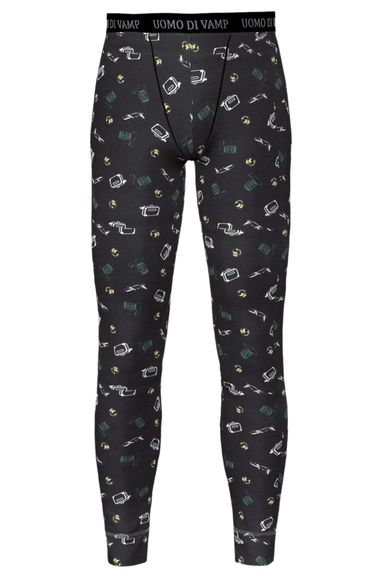 Men's Patterned Leggings