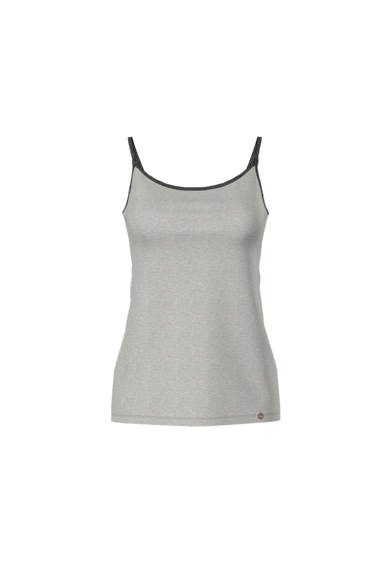 Women's Plain Vest with Spaghetti Straps