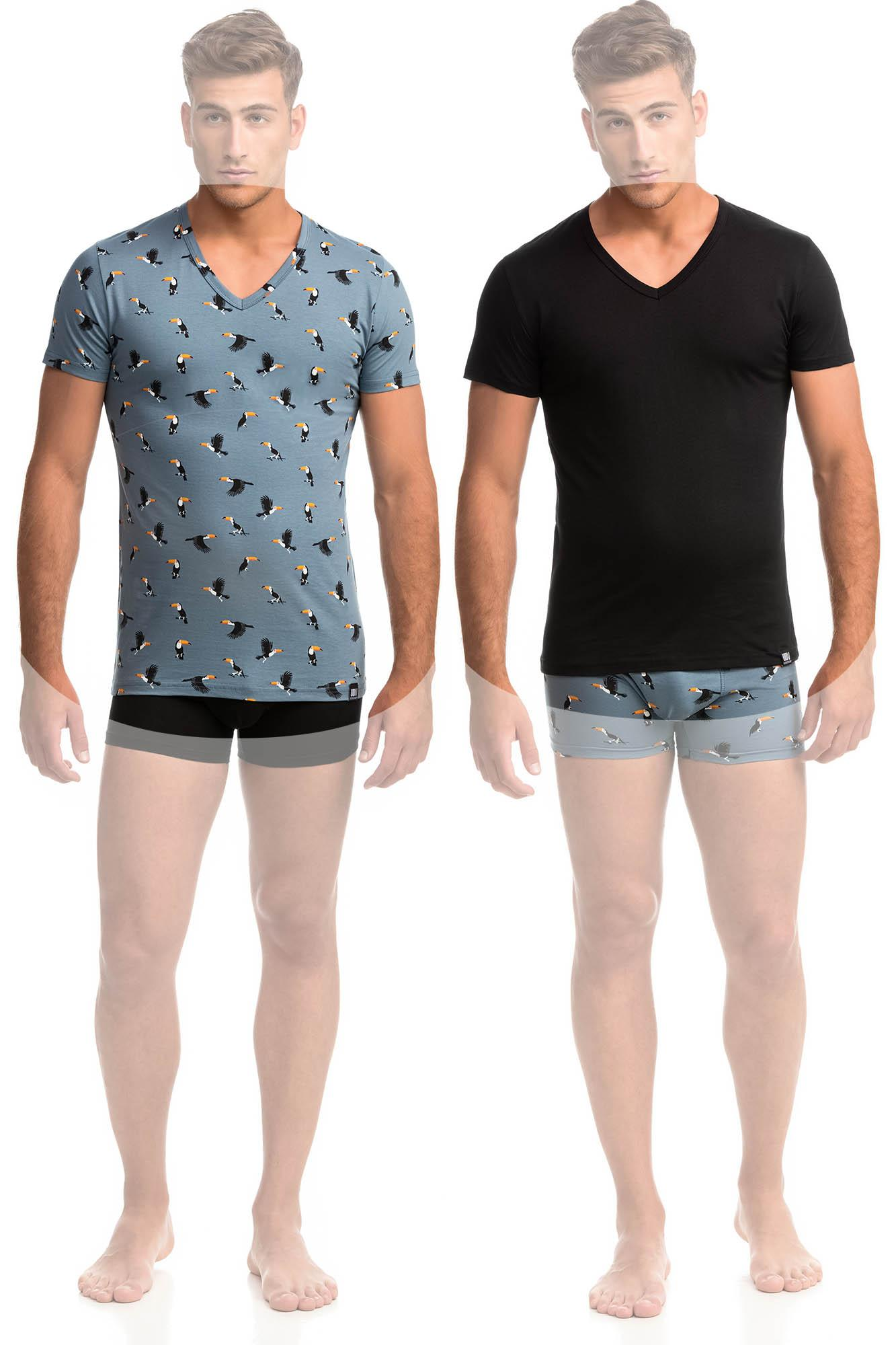 Men's 2-Pack Short-Sleeved Vests