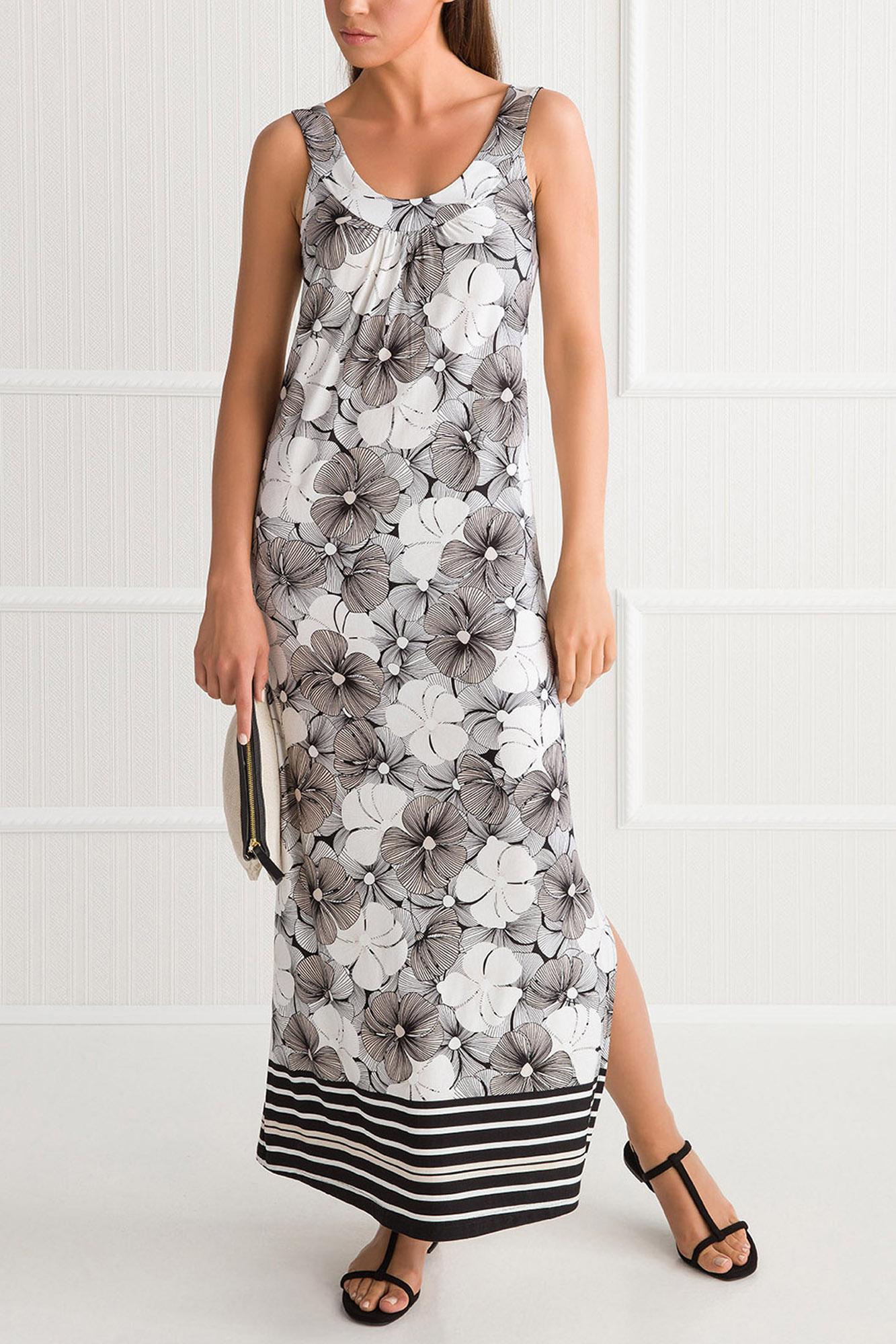 Floral Long Plus Size Dress