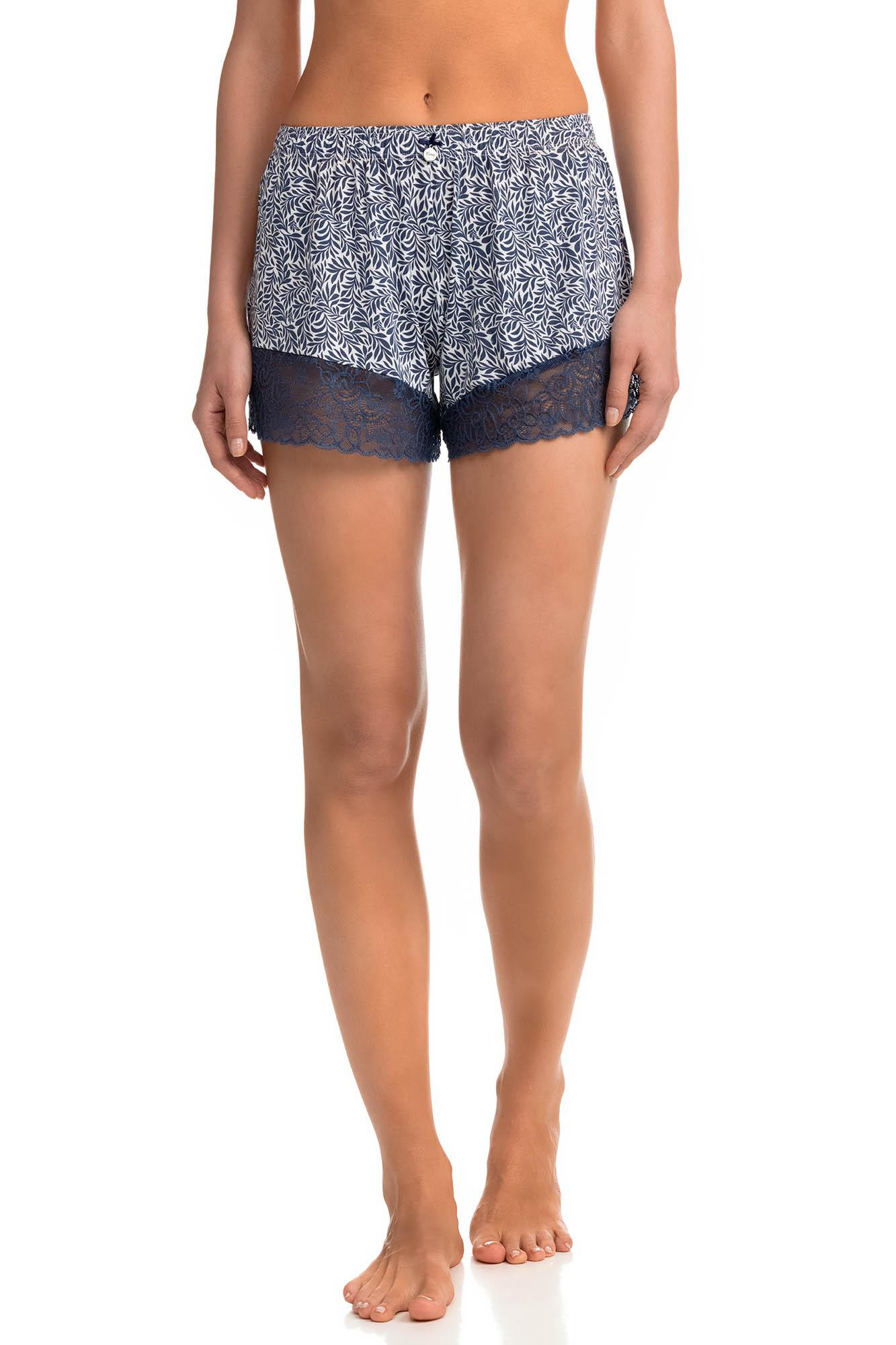 Women's Cheeky Shorts with Lace