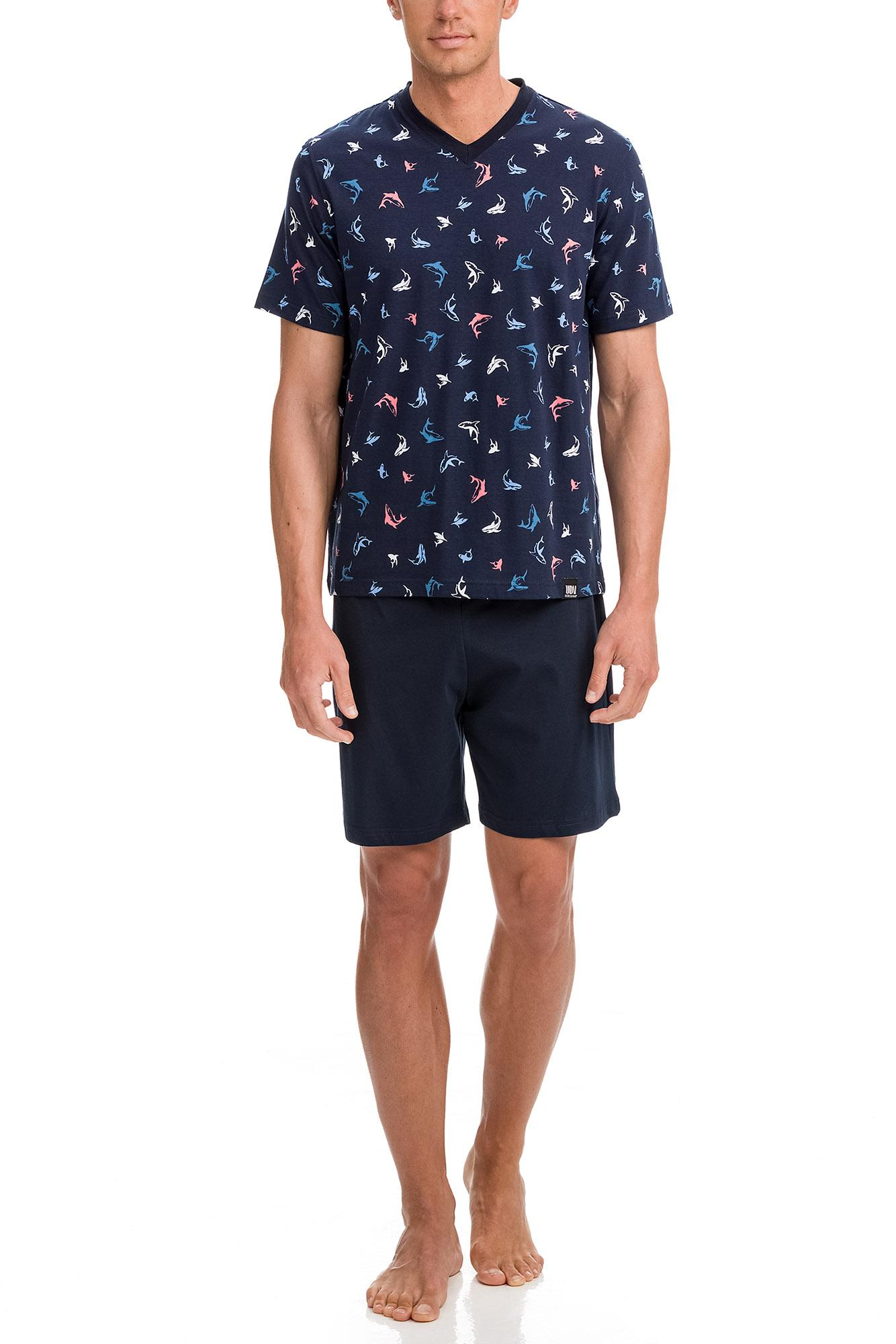 "Men's Print Pyjamas ""Sharks"""