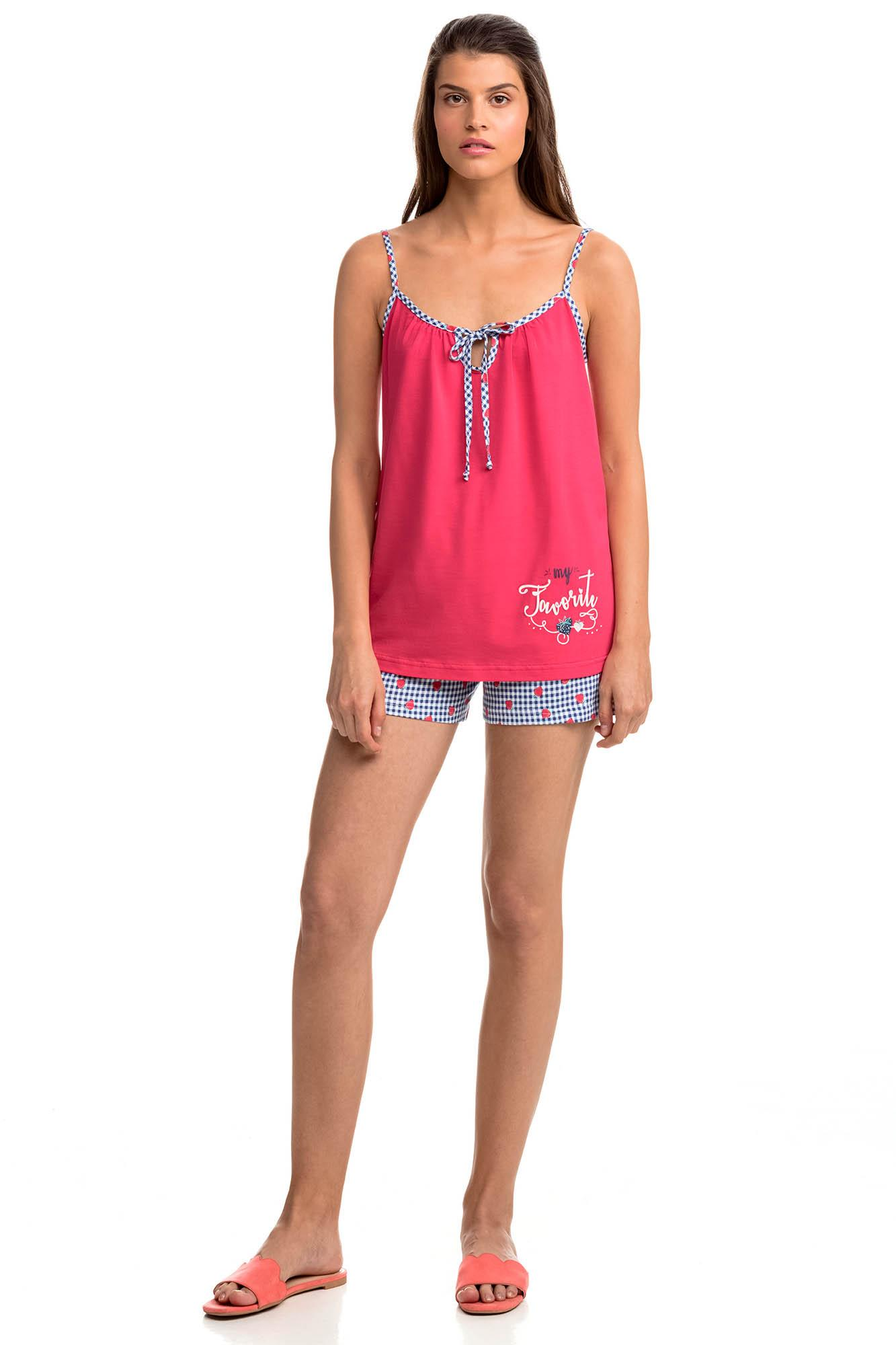 Women's Top and Shorts Pyjamas
