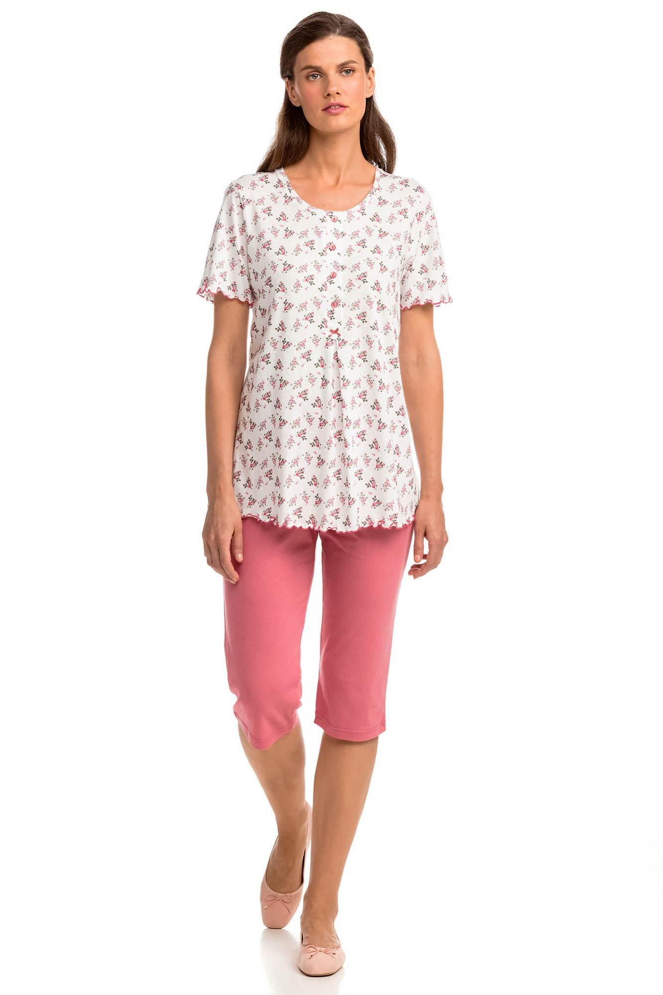 Women's Pyjamas with Button Placket