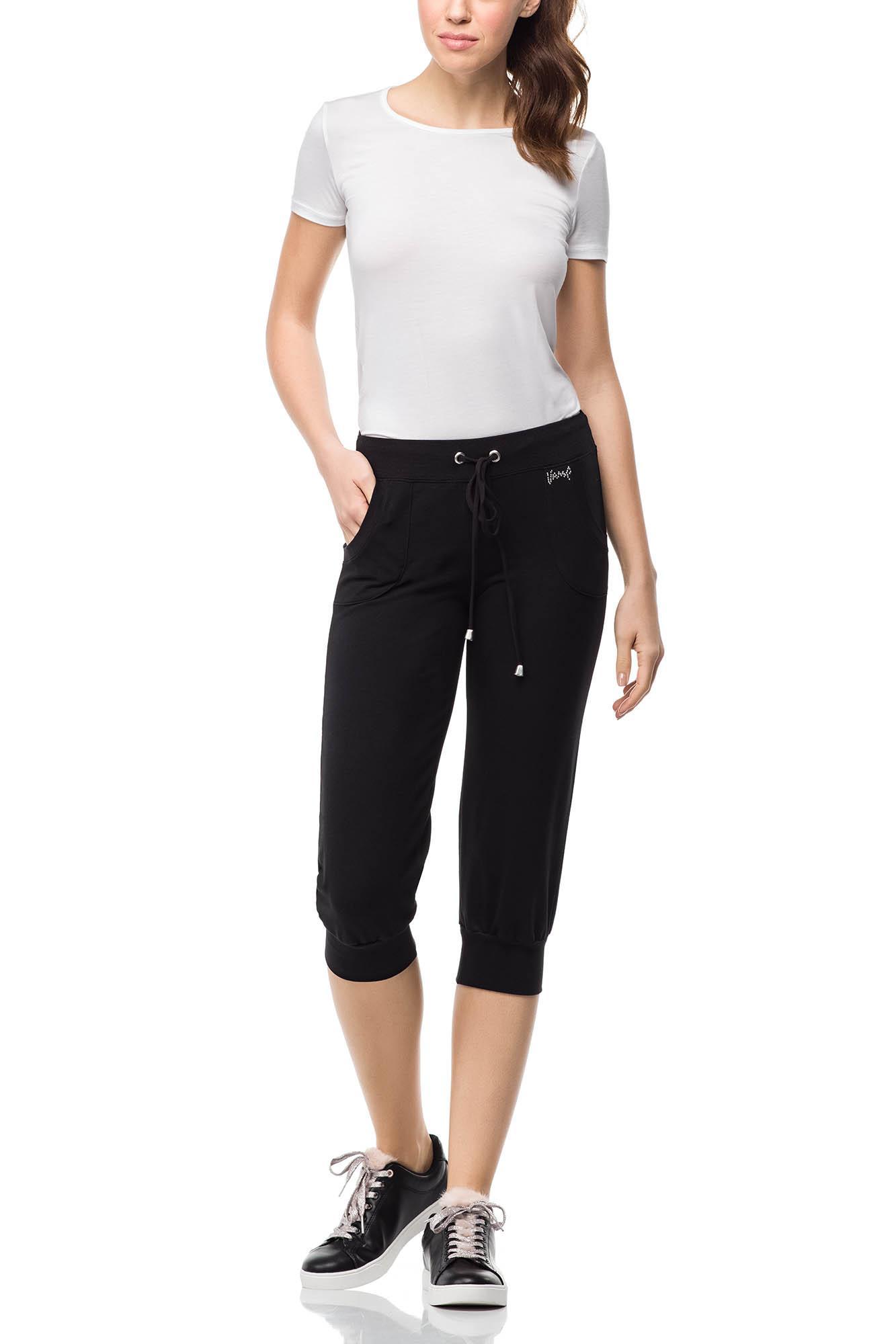 Women's Sweatshirt Capri Pants