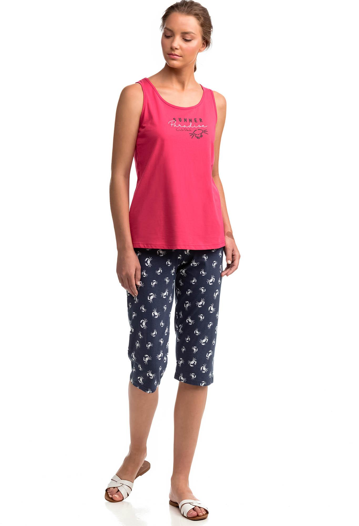 Women's Sleeveless Pyjamas