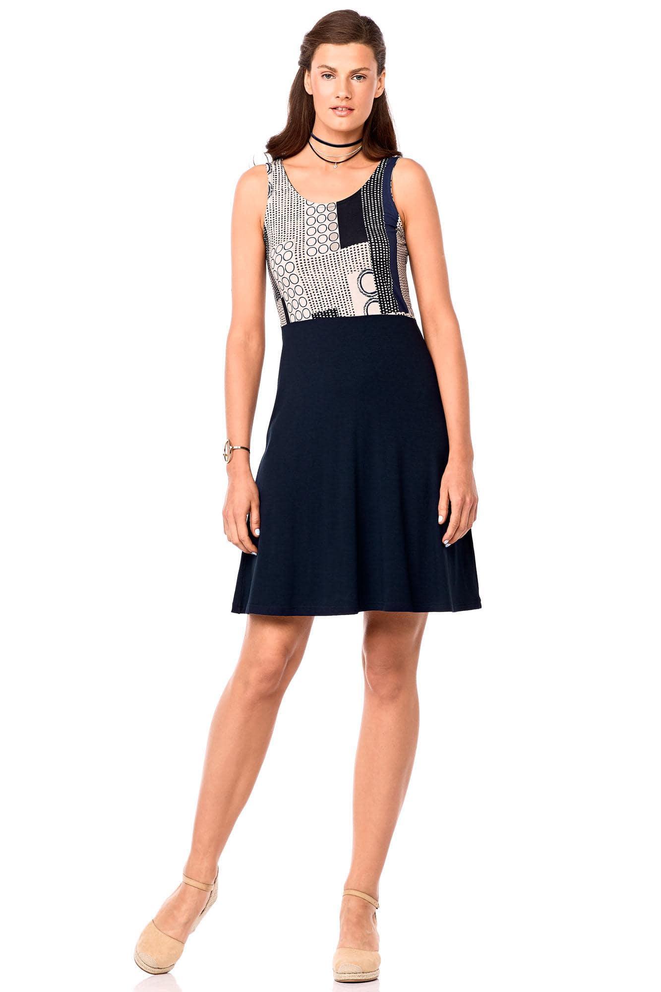 Φόρεμα Αμάνικο Plus Sizes