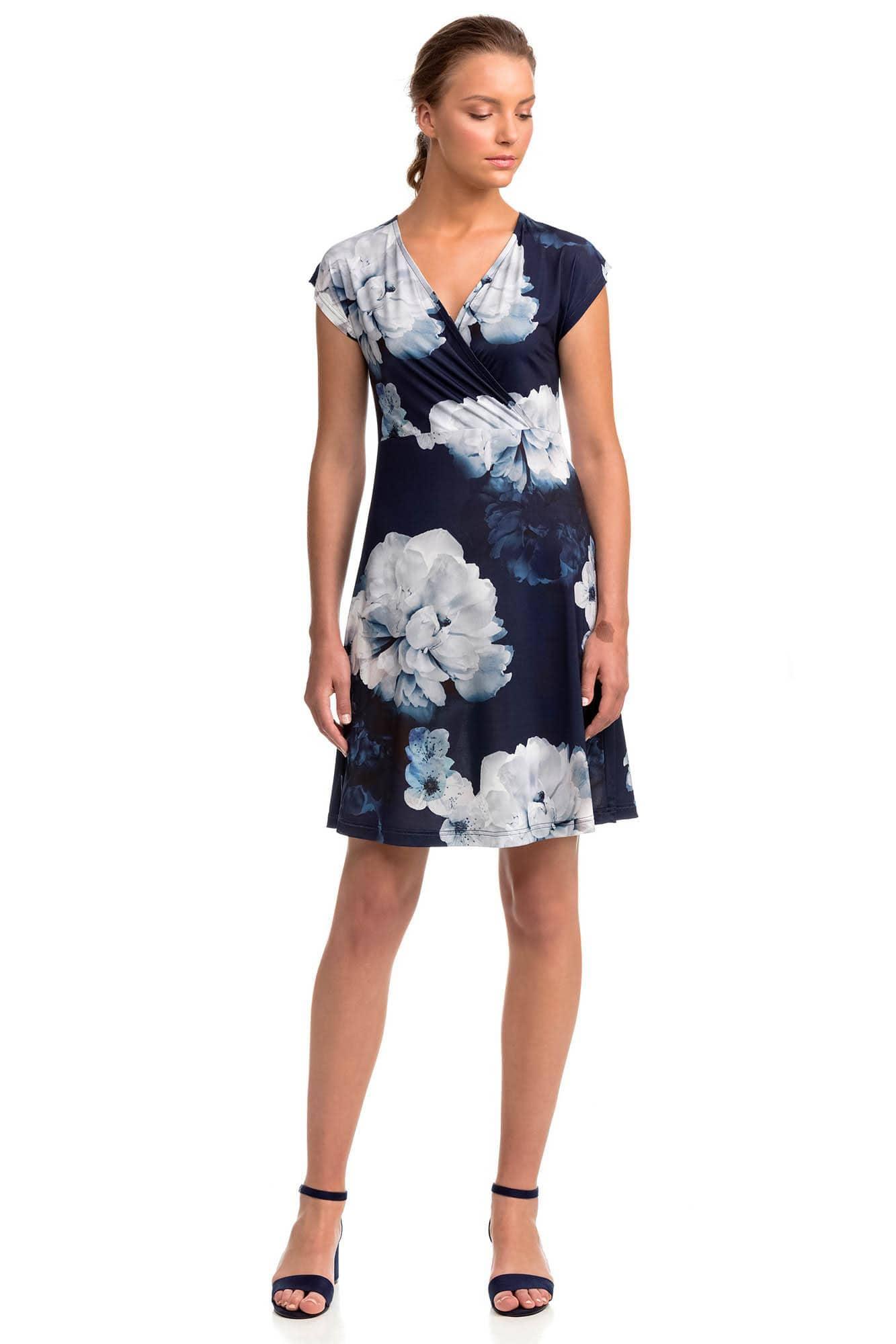Κρουαζέ Φόρεμα Φλοράλ