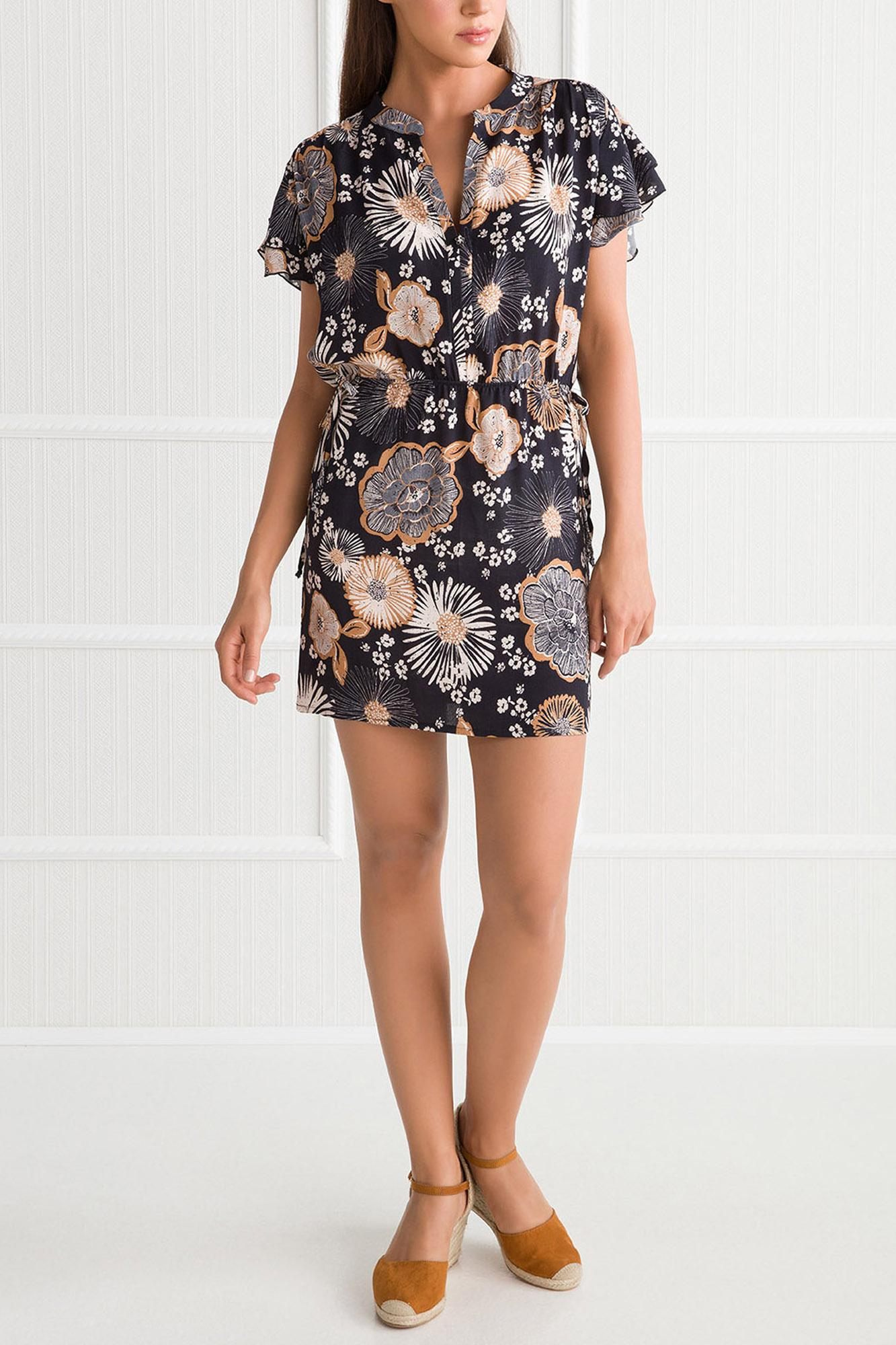 Dark Printed Dress
