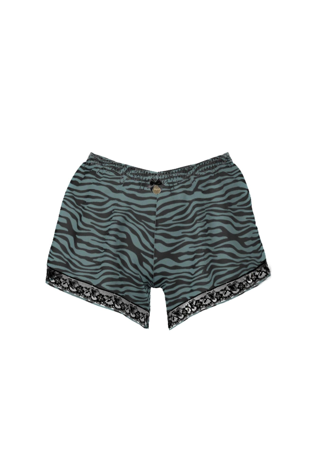 Women's Animal Print Shorts