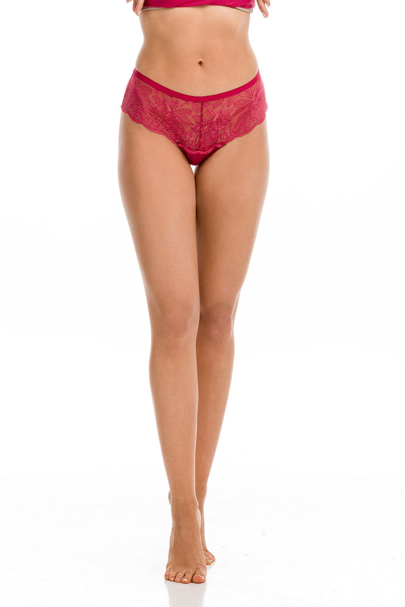 Women's Lace Cheeky Slip