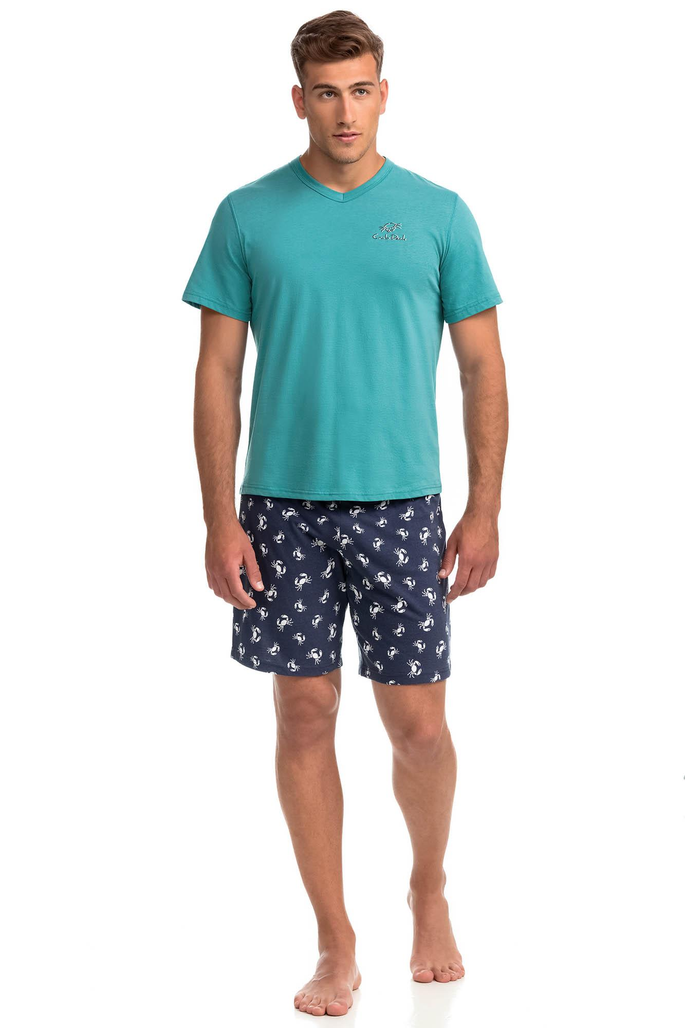 Men's Short-Sleeved Pyjamas