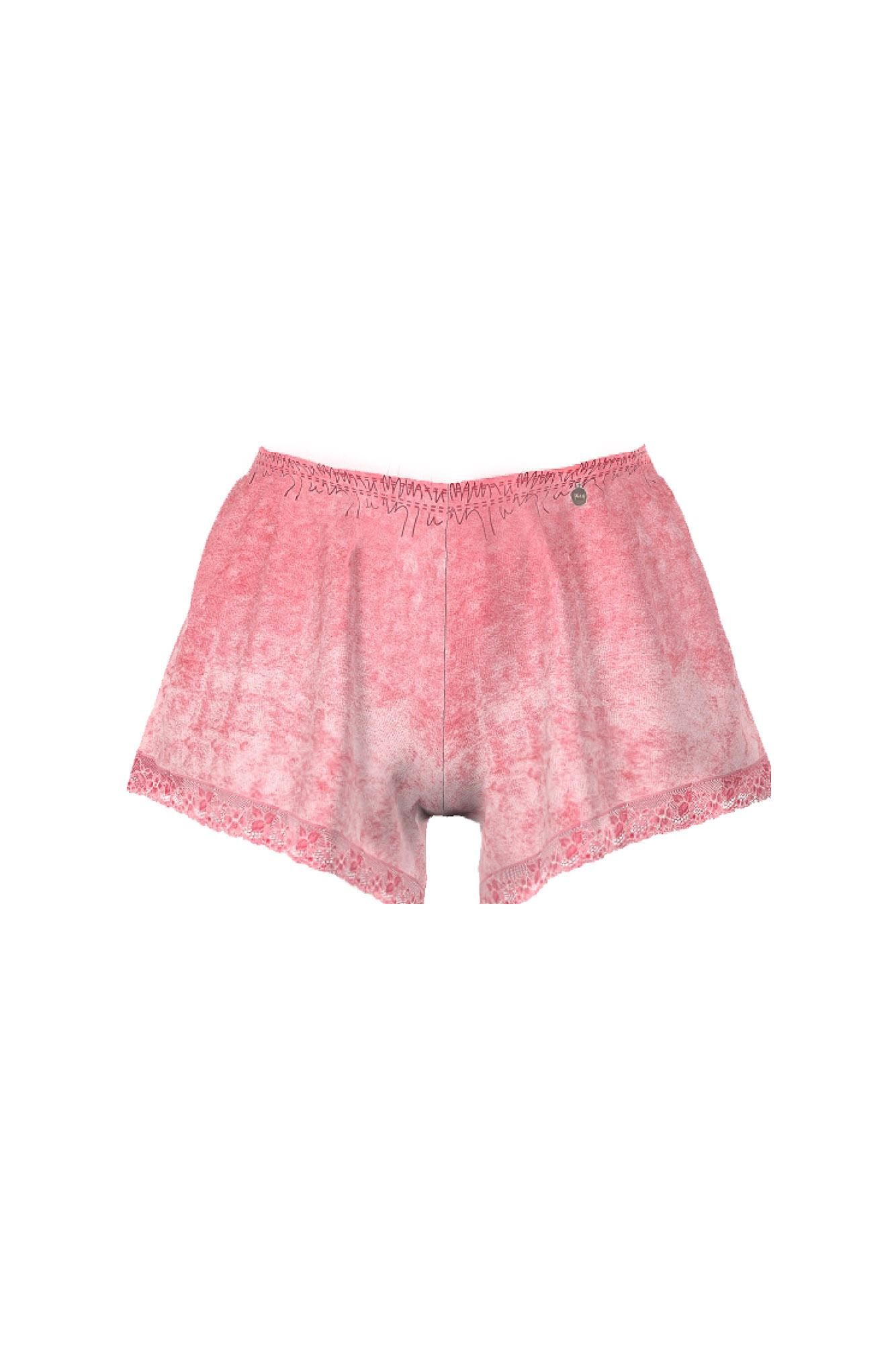 Women's Velour Shorts