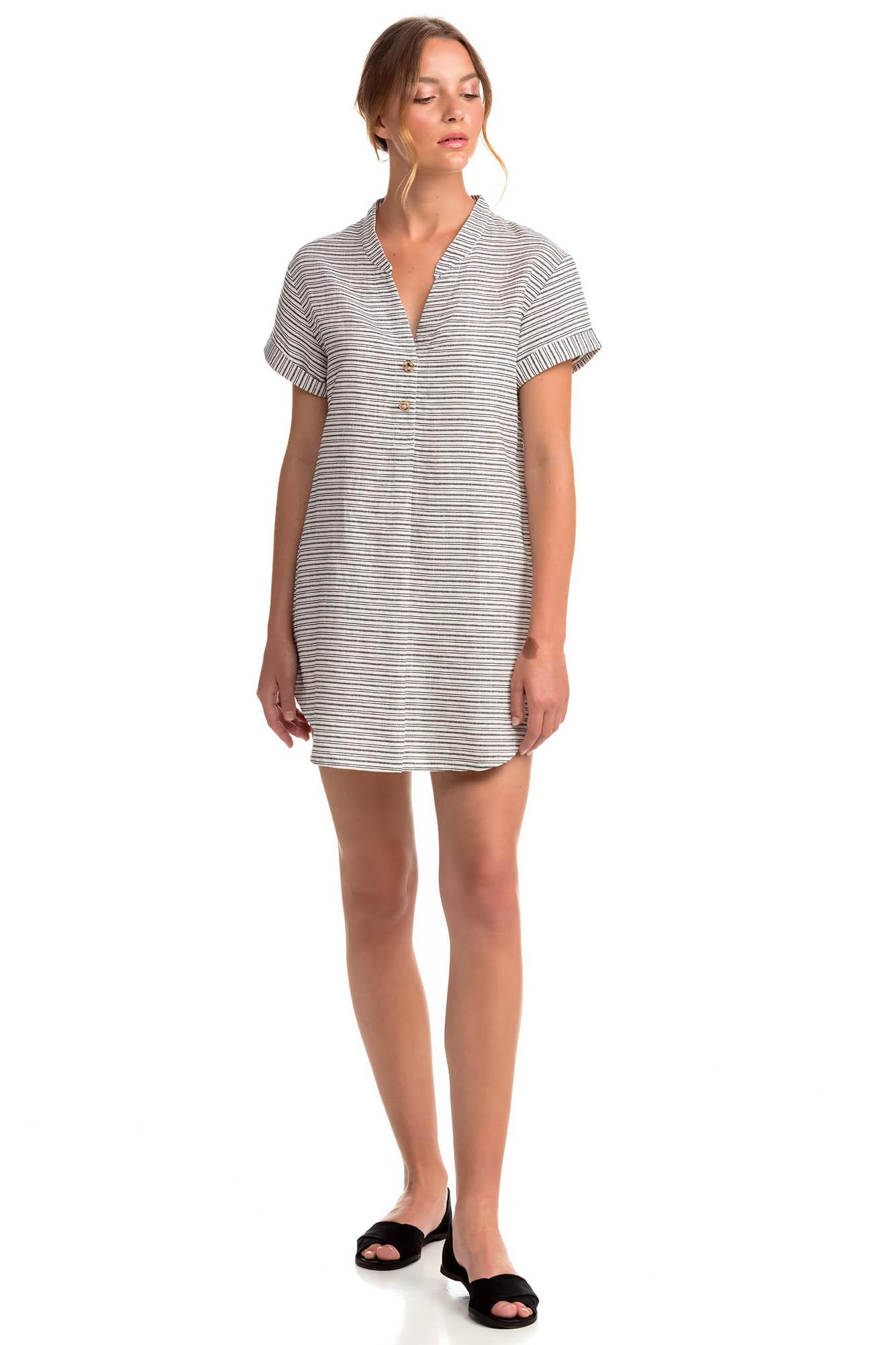 Linen Striped Tunic