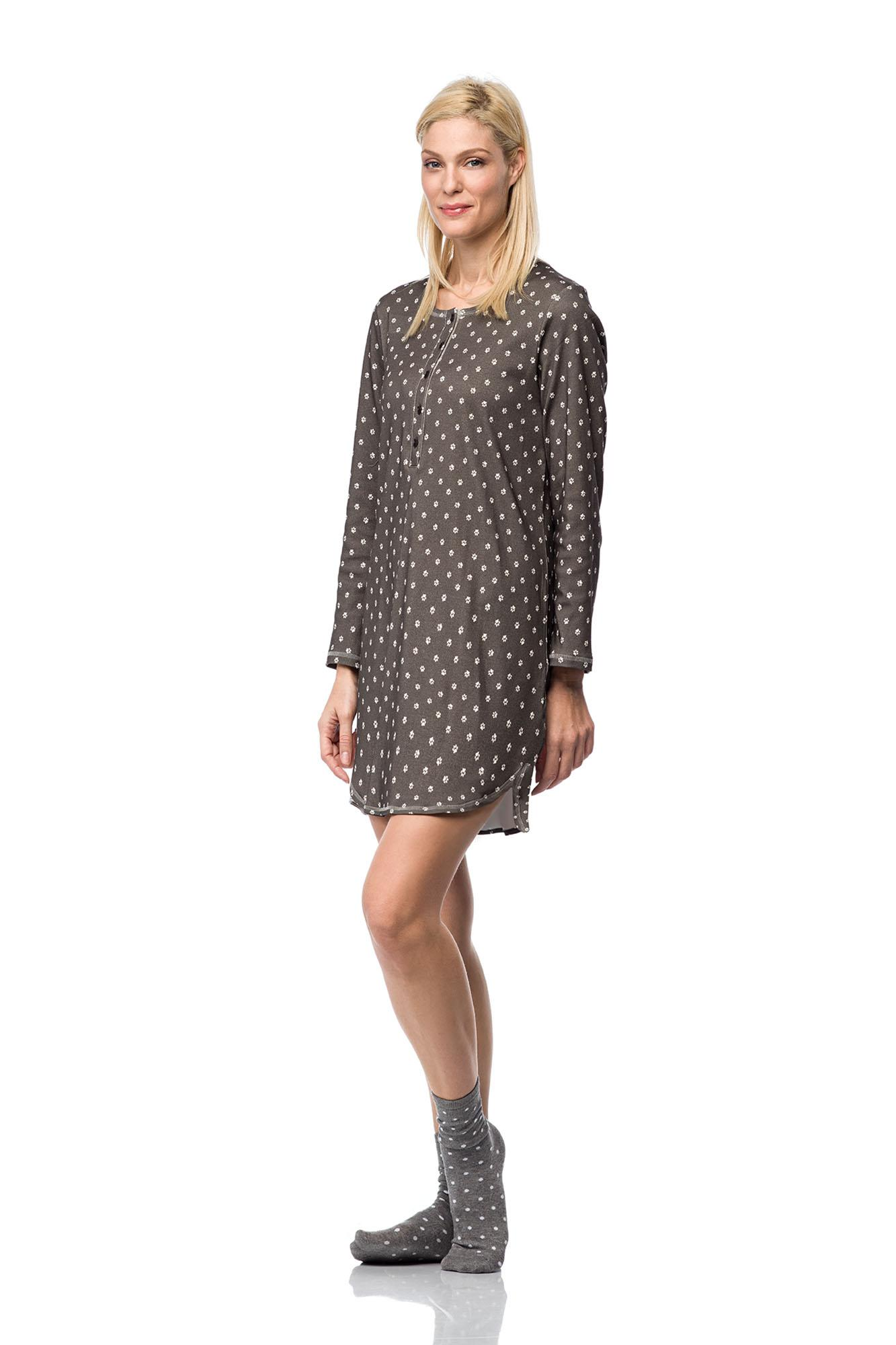 Women's Print Nursing Nightgown