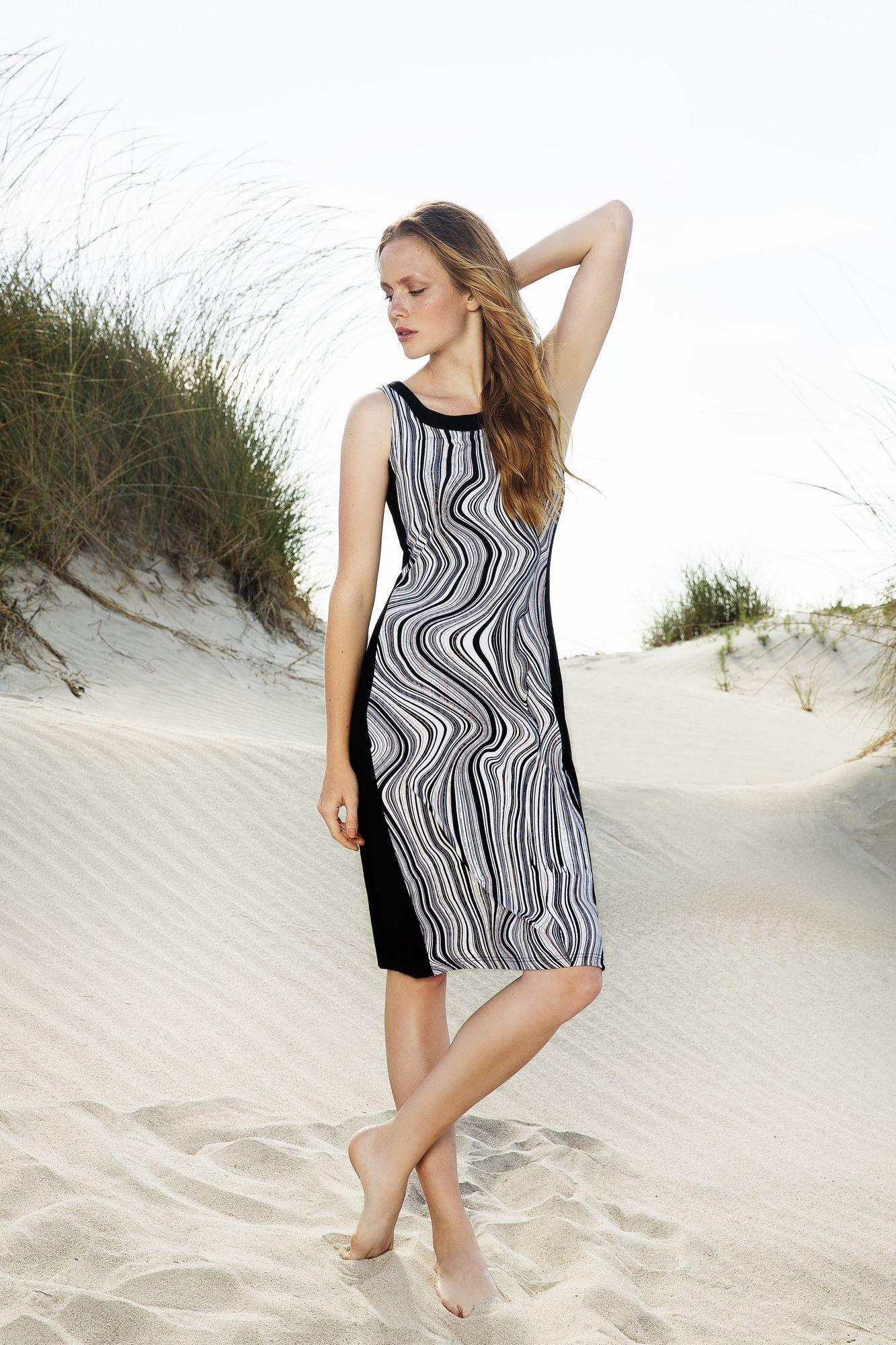 Print Beach Dress
