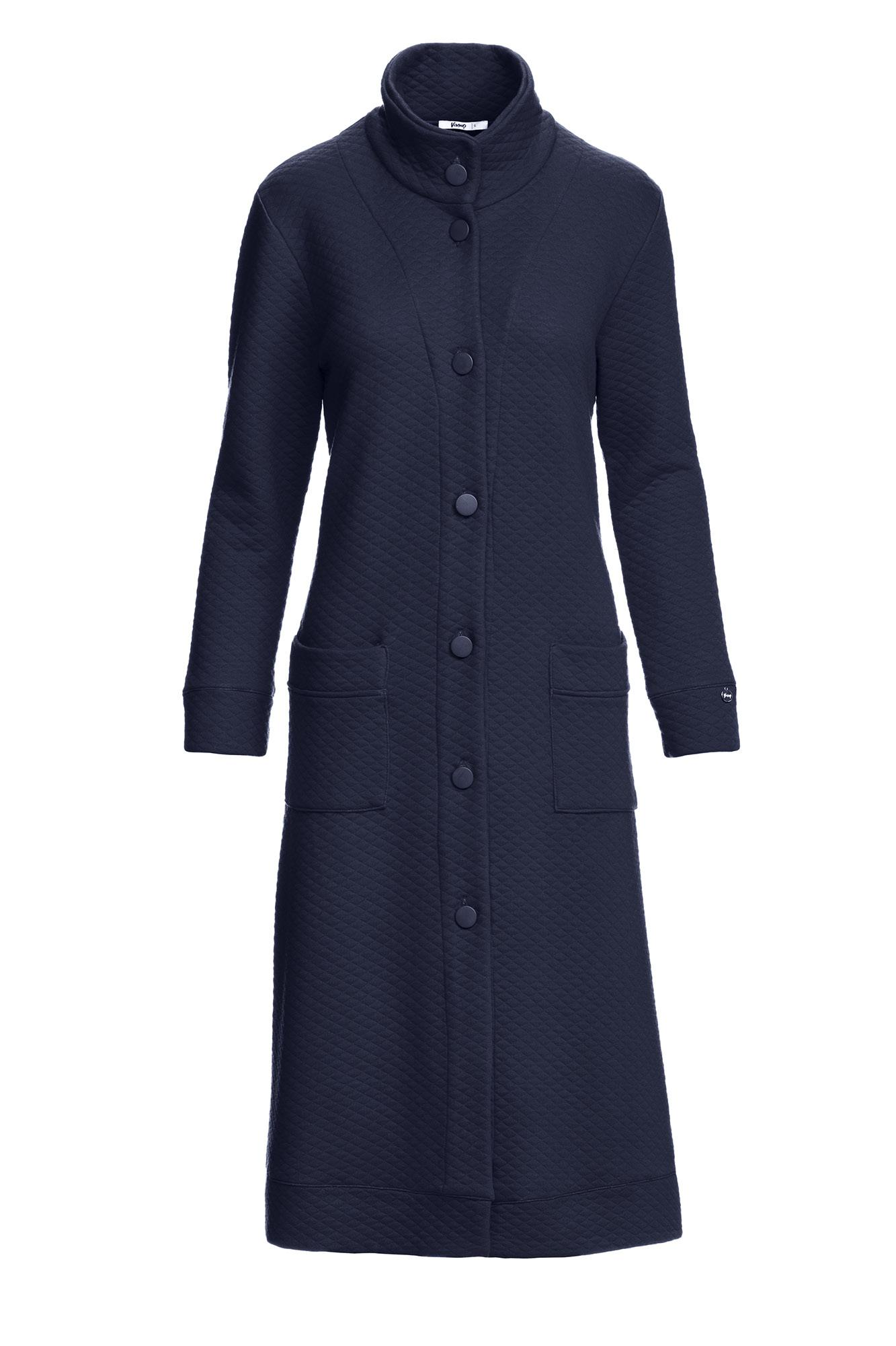 Women's Jacquard Buttoned Robe