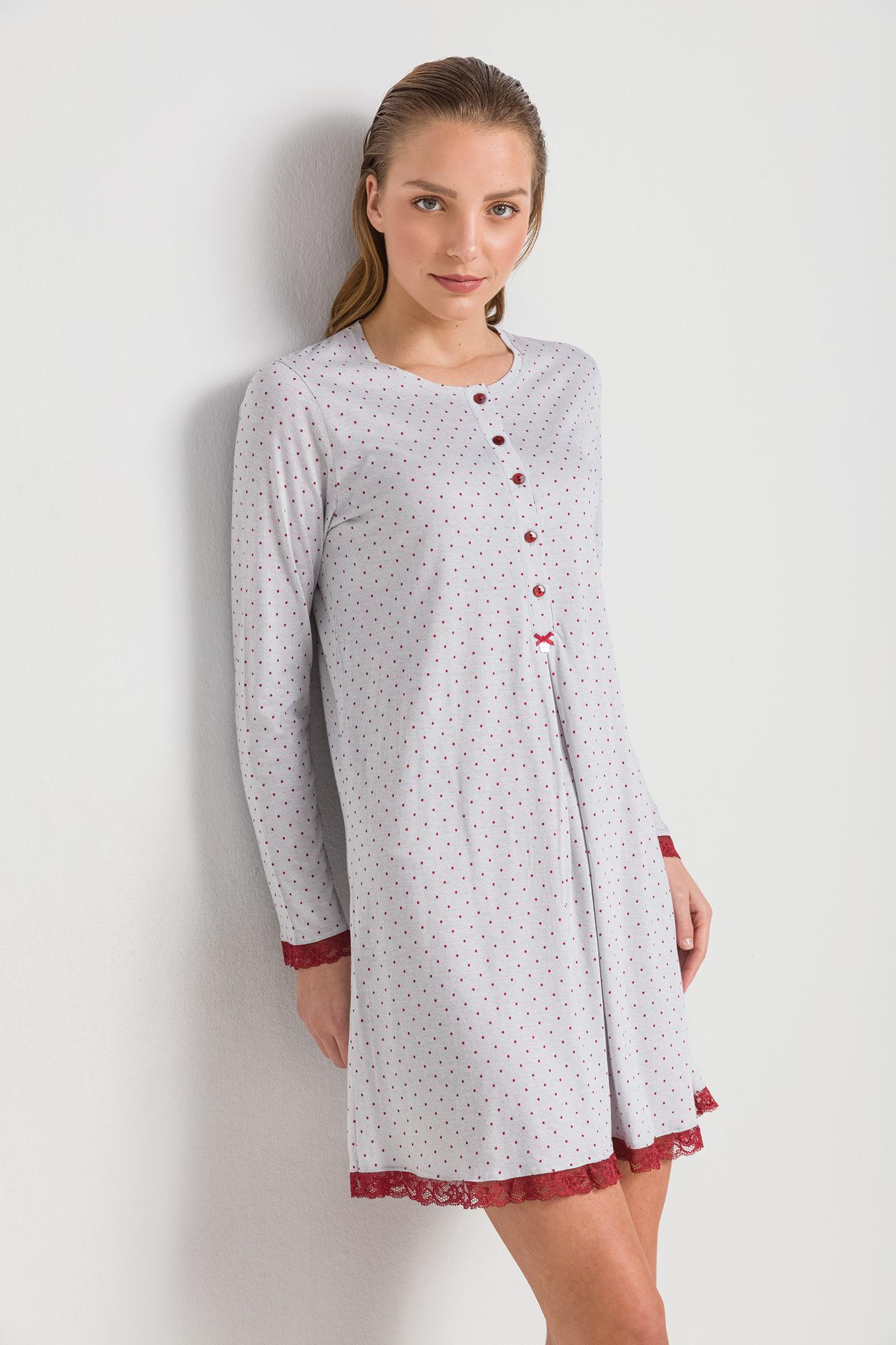 Women's Maternity Nightgown Plus Size