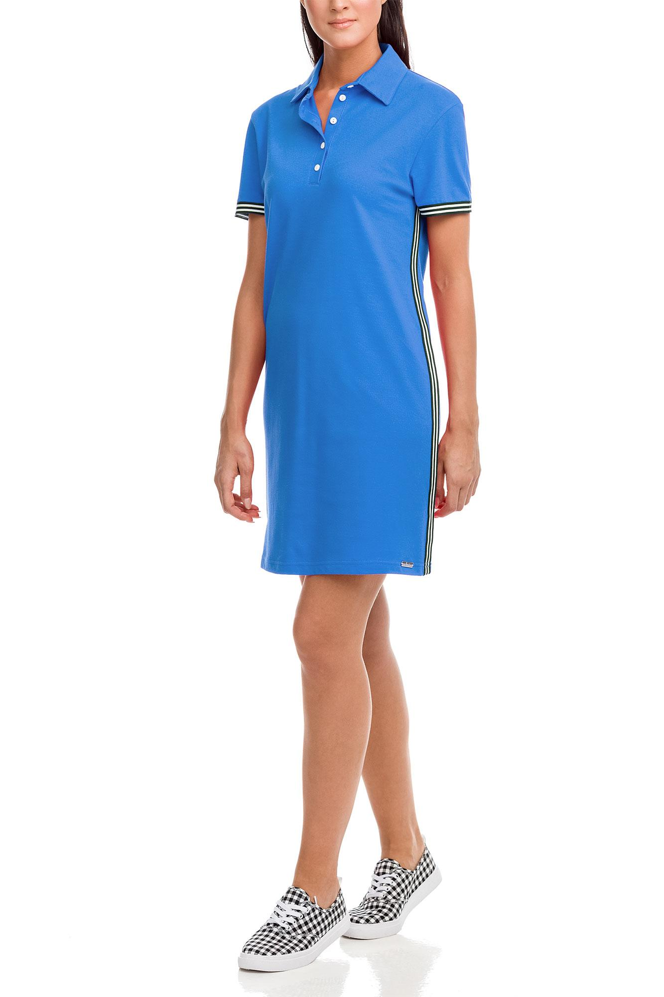 Pique Beach Dress with Lapels