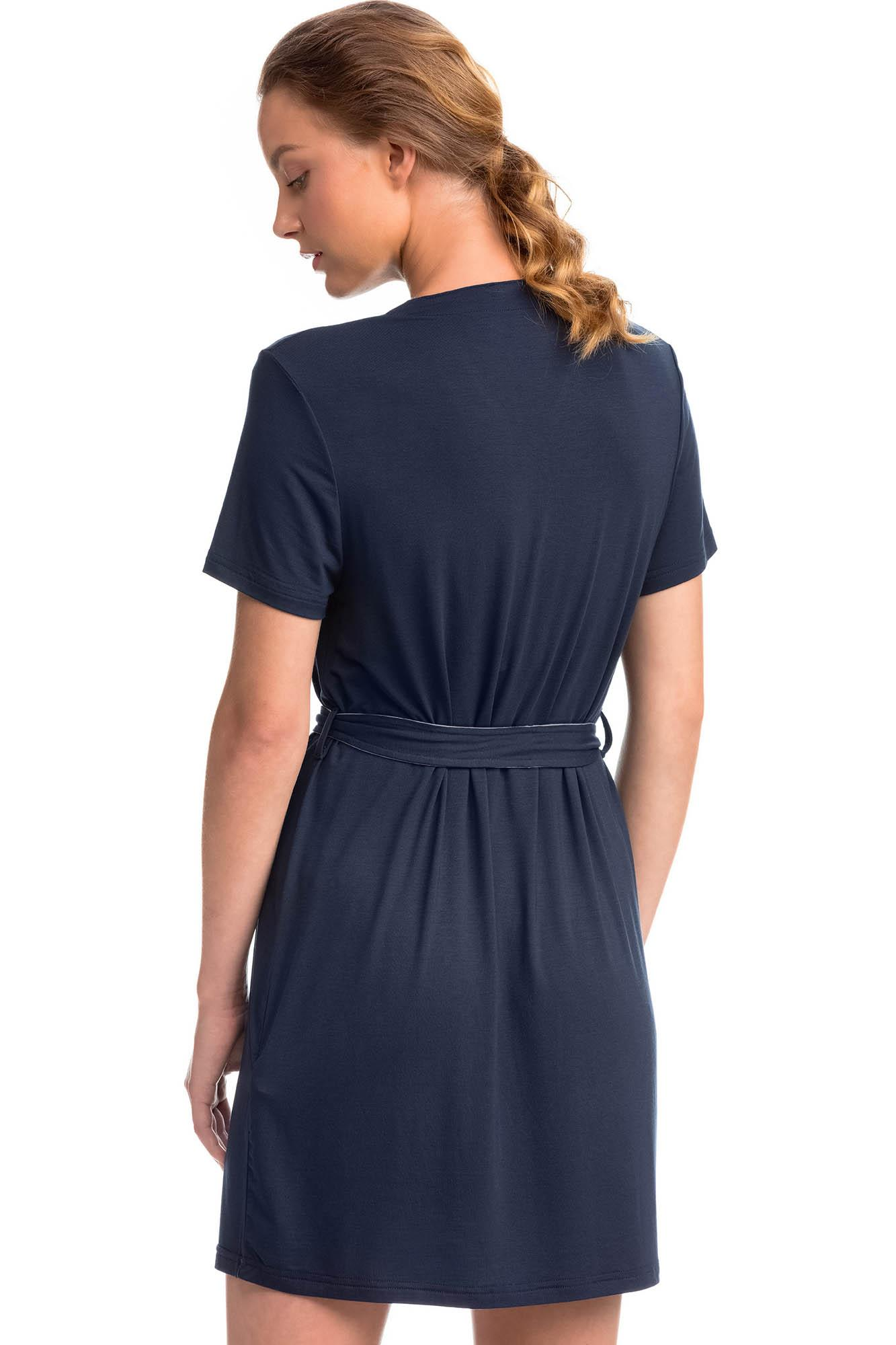 Dress with Tie Waist Belt