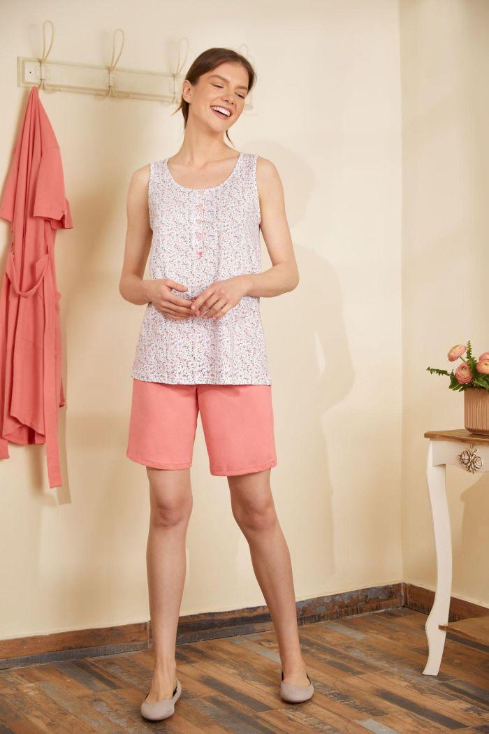 Women's Pyjamas with Bermuda Pants