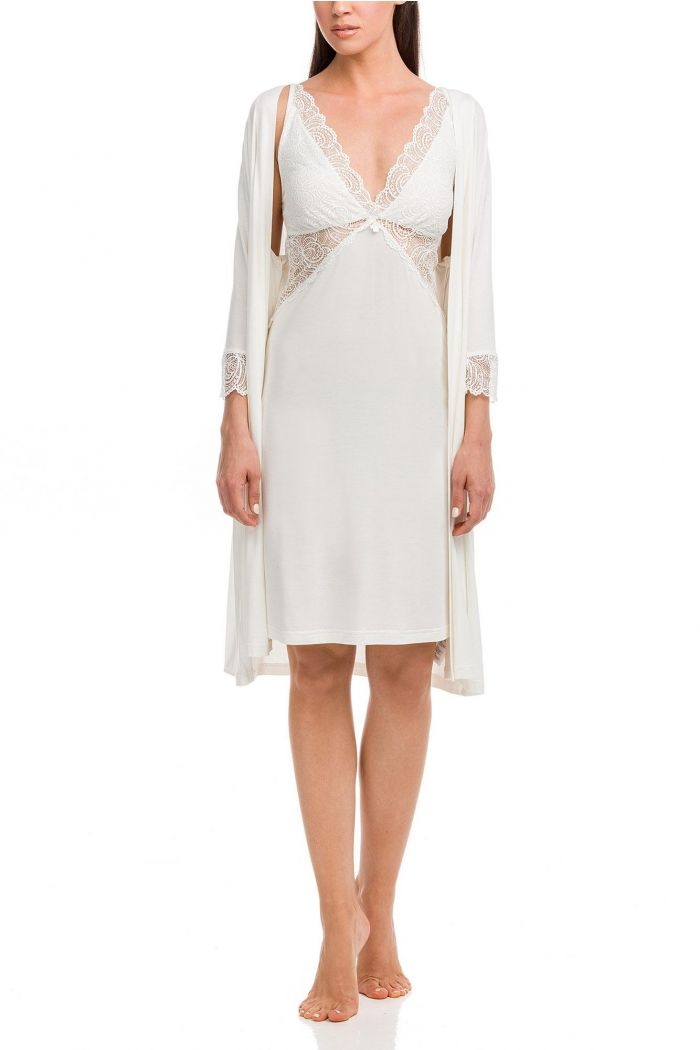 Bridal Nightgown and Robe