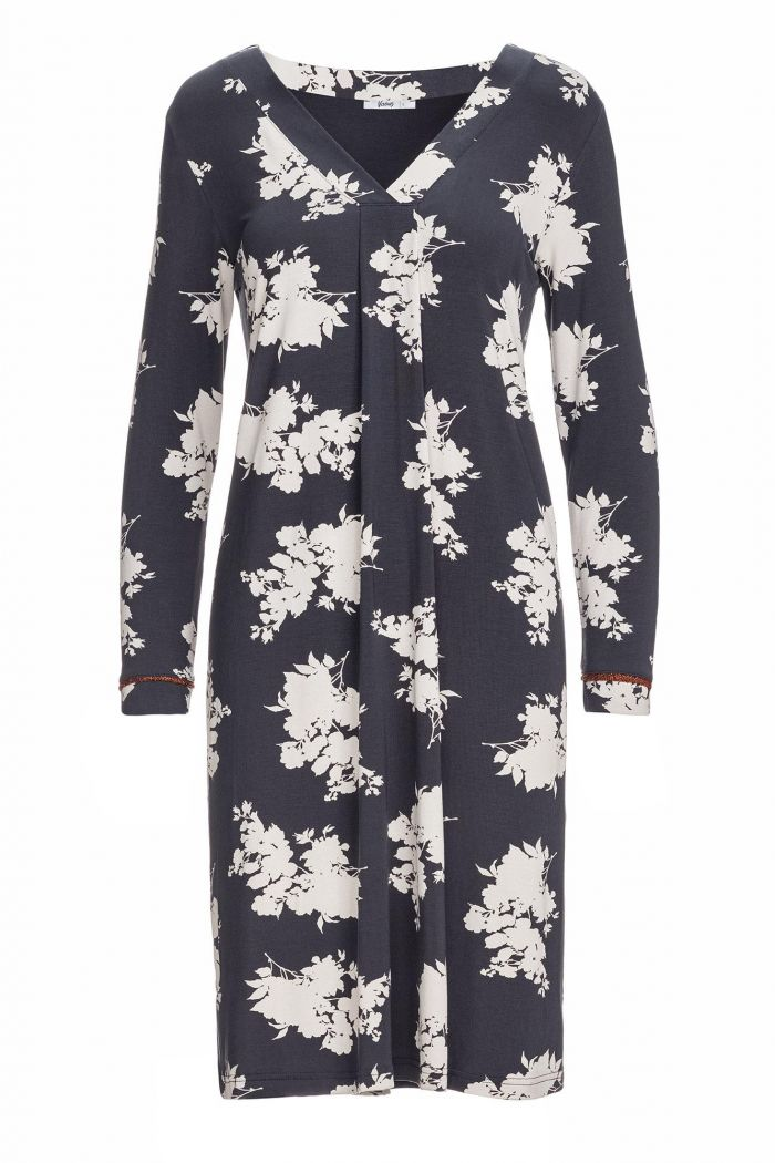 Women's Floral Nightgown Plus Size