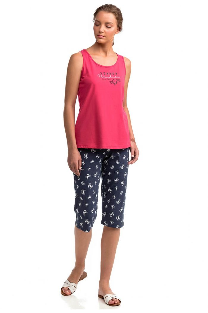 Women's Sleeveless Pyjamas