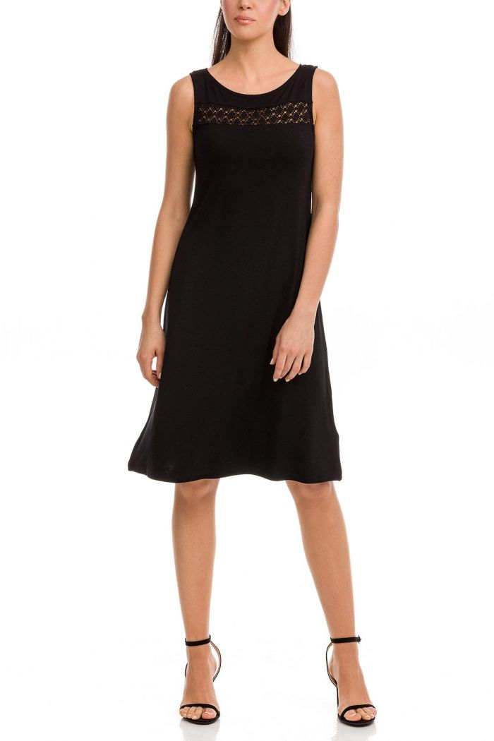 Dress with Jacquard Detail