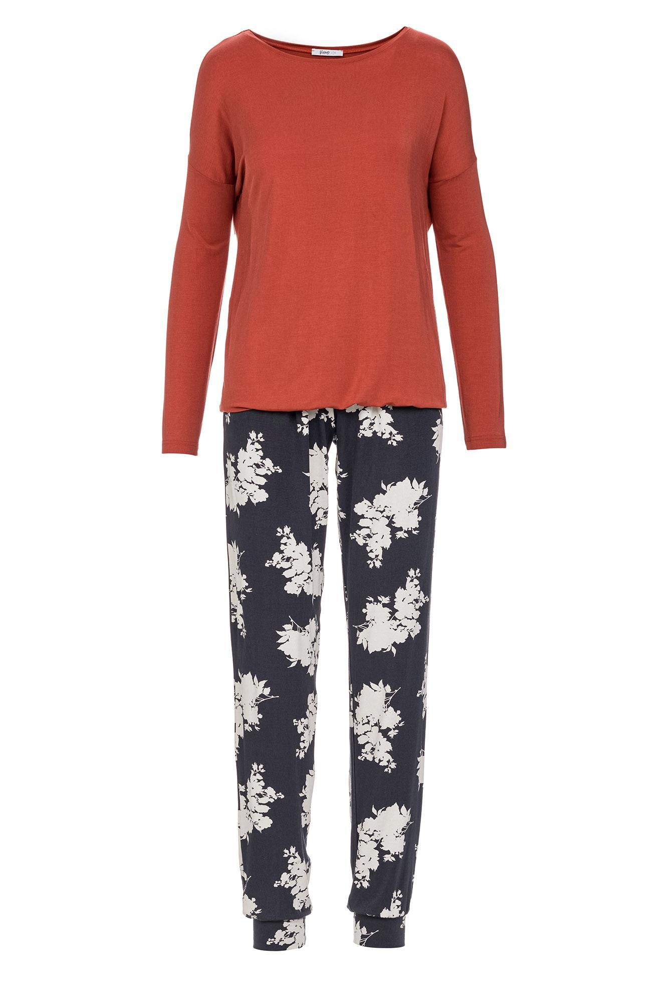 Women's Floral Pyjamas