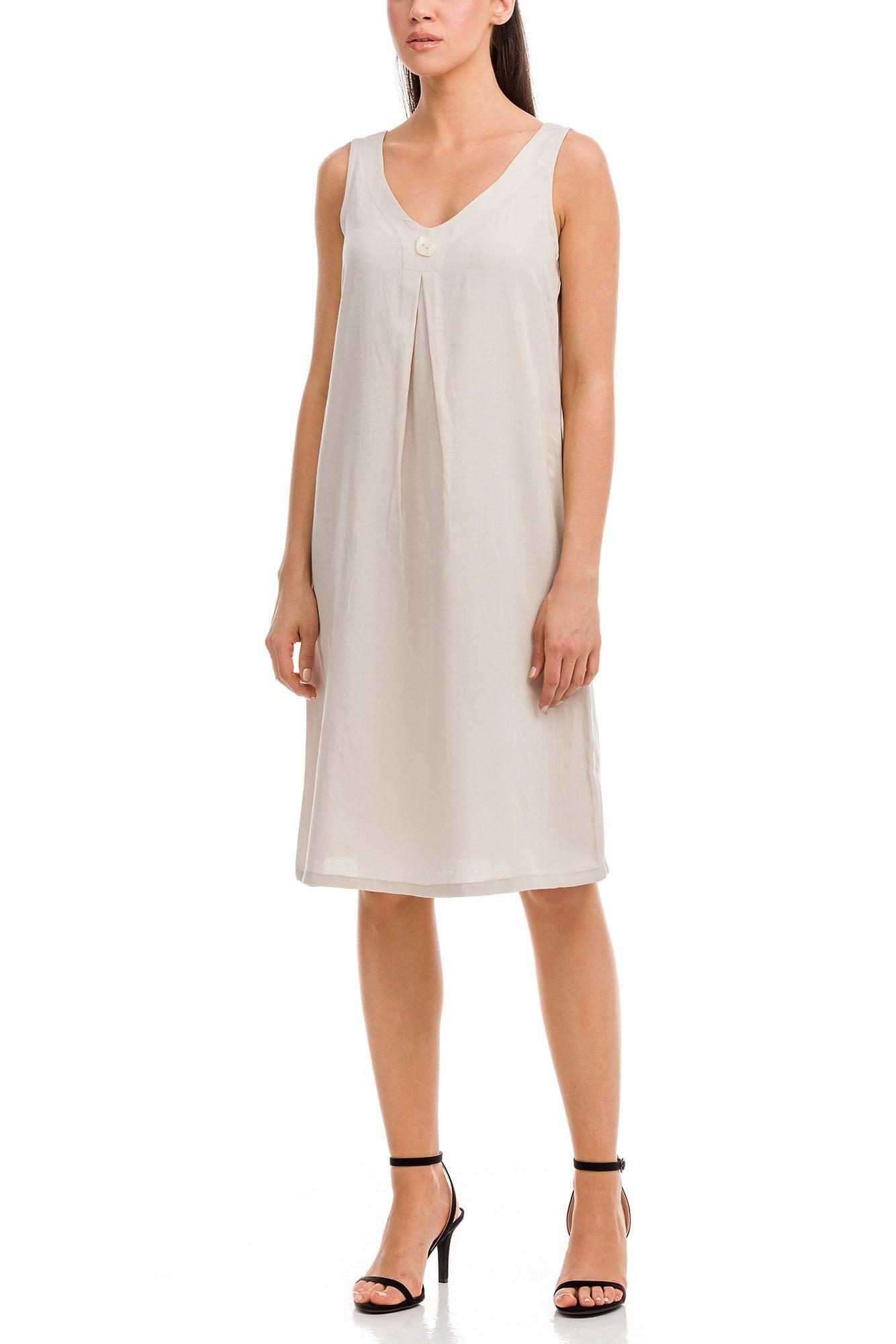 Φόρεμα Λινό Plus Size