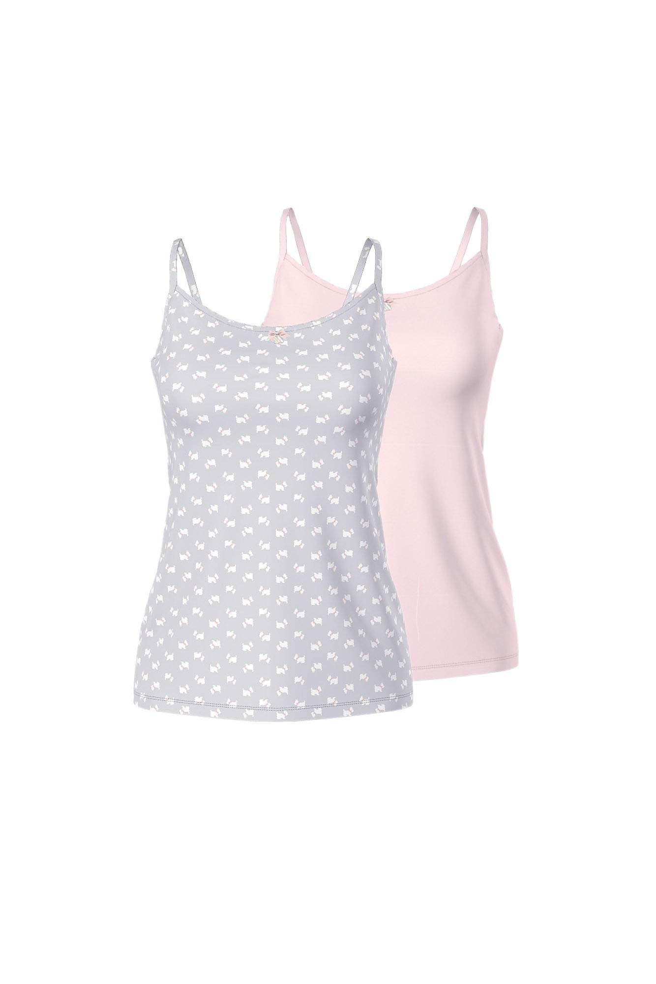 Women's 2 Pack Print Vests
