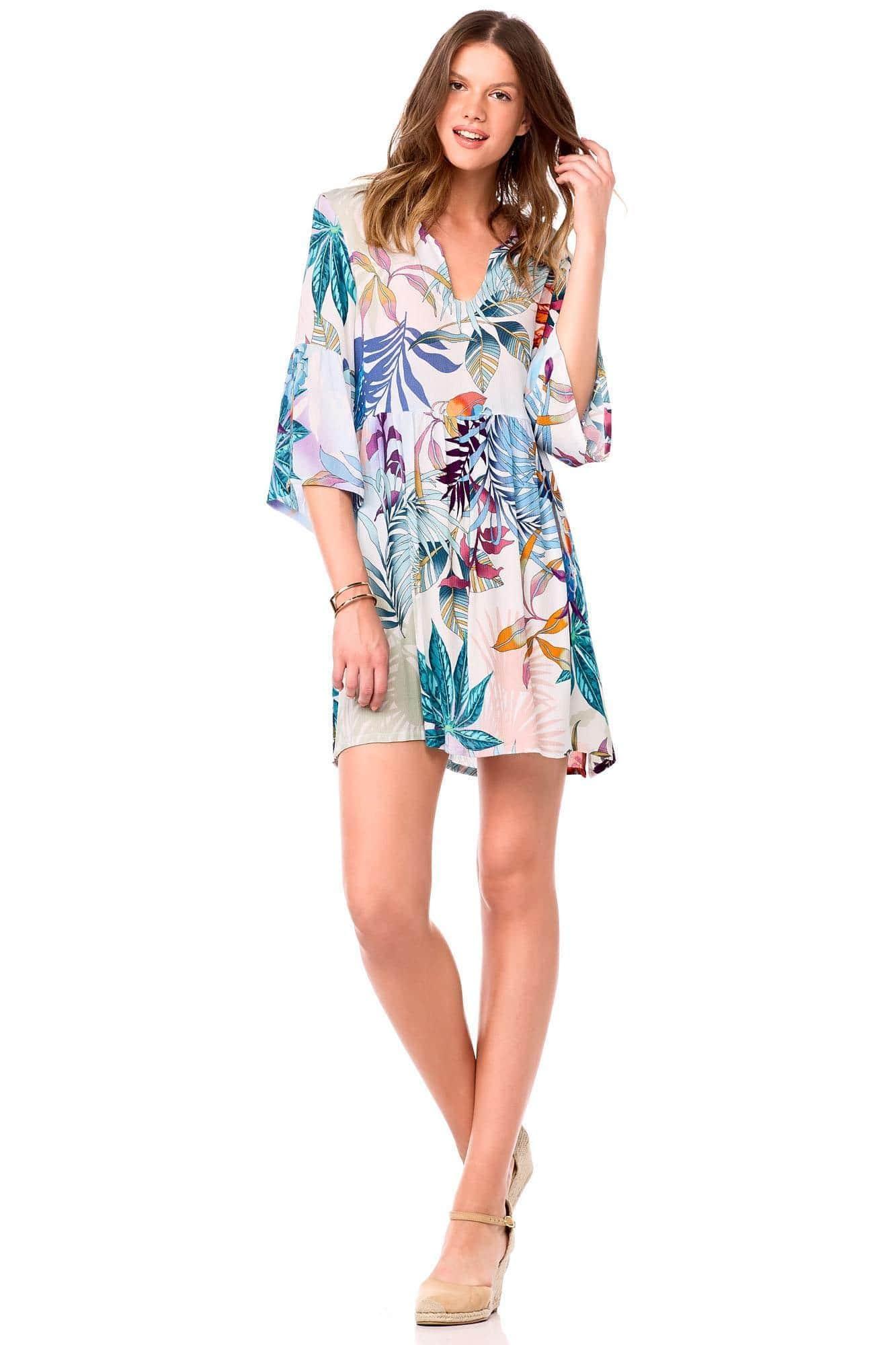 Φόρεμα Παραλίας Tropical