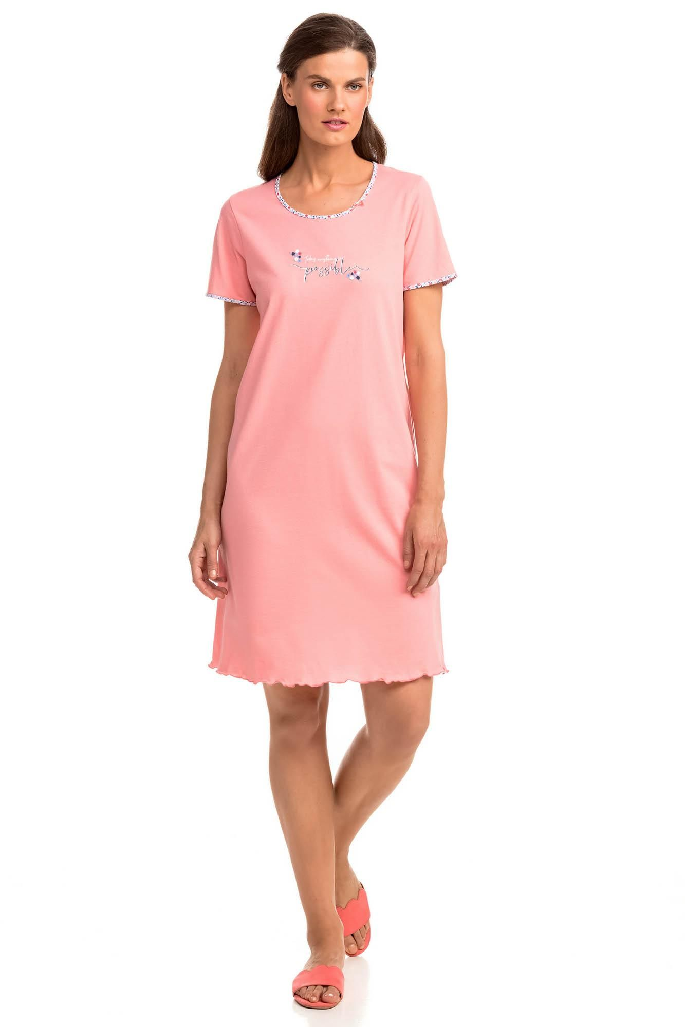 Short-Sleeved Nightdress