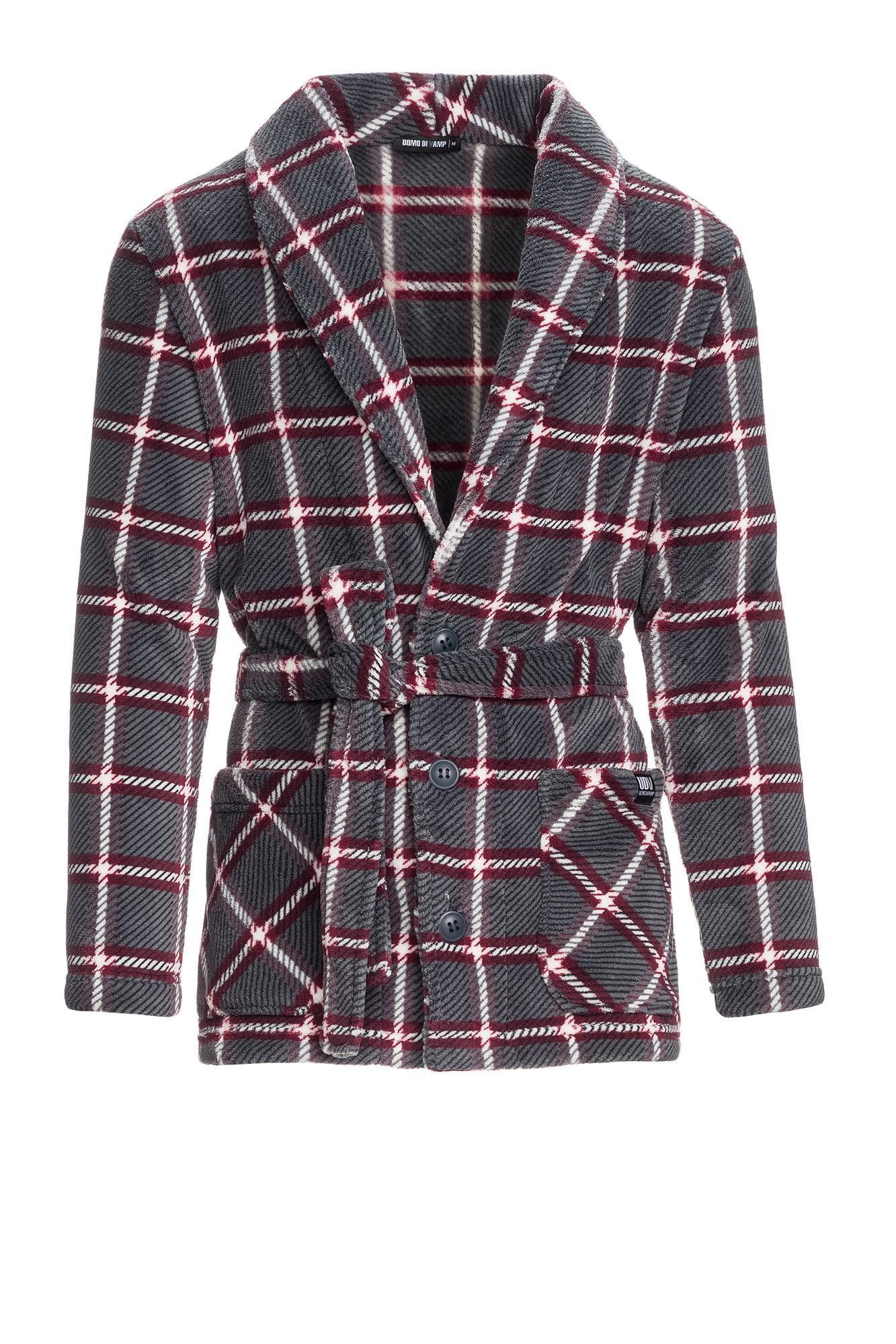 Men's Plaid Buttoned Jacket
