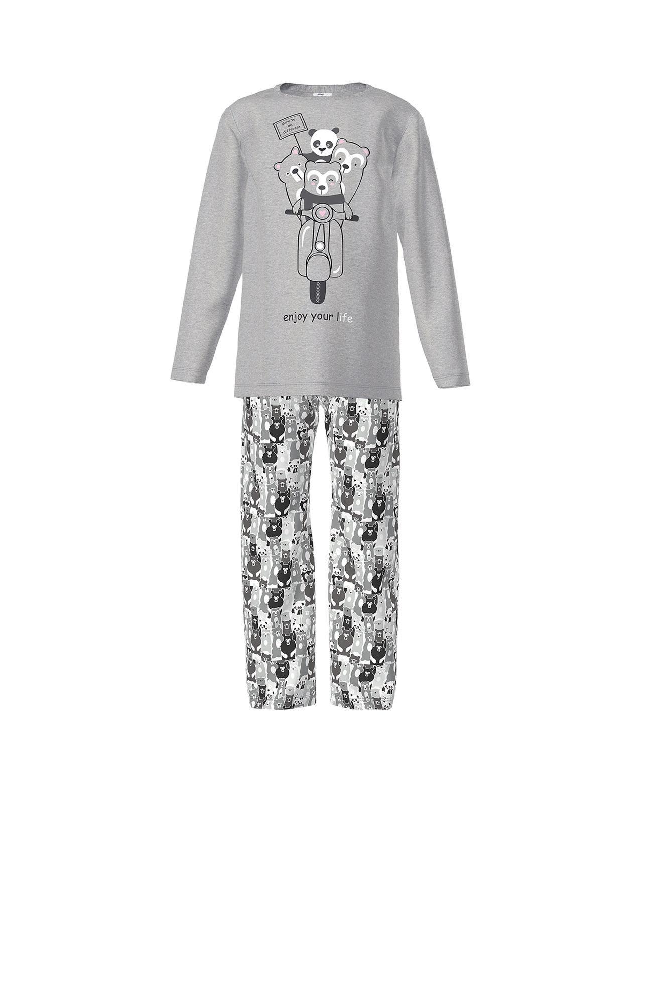 Kid's Patterned Pyjamas