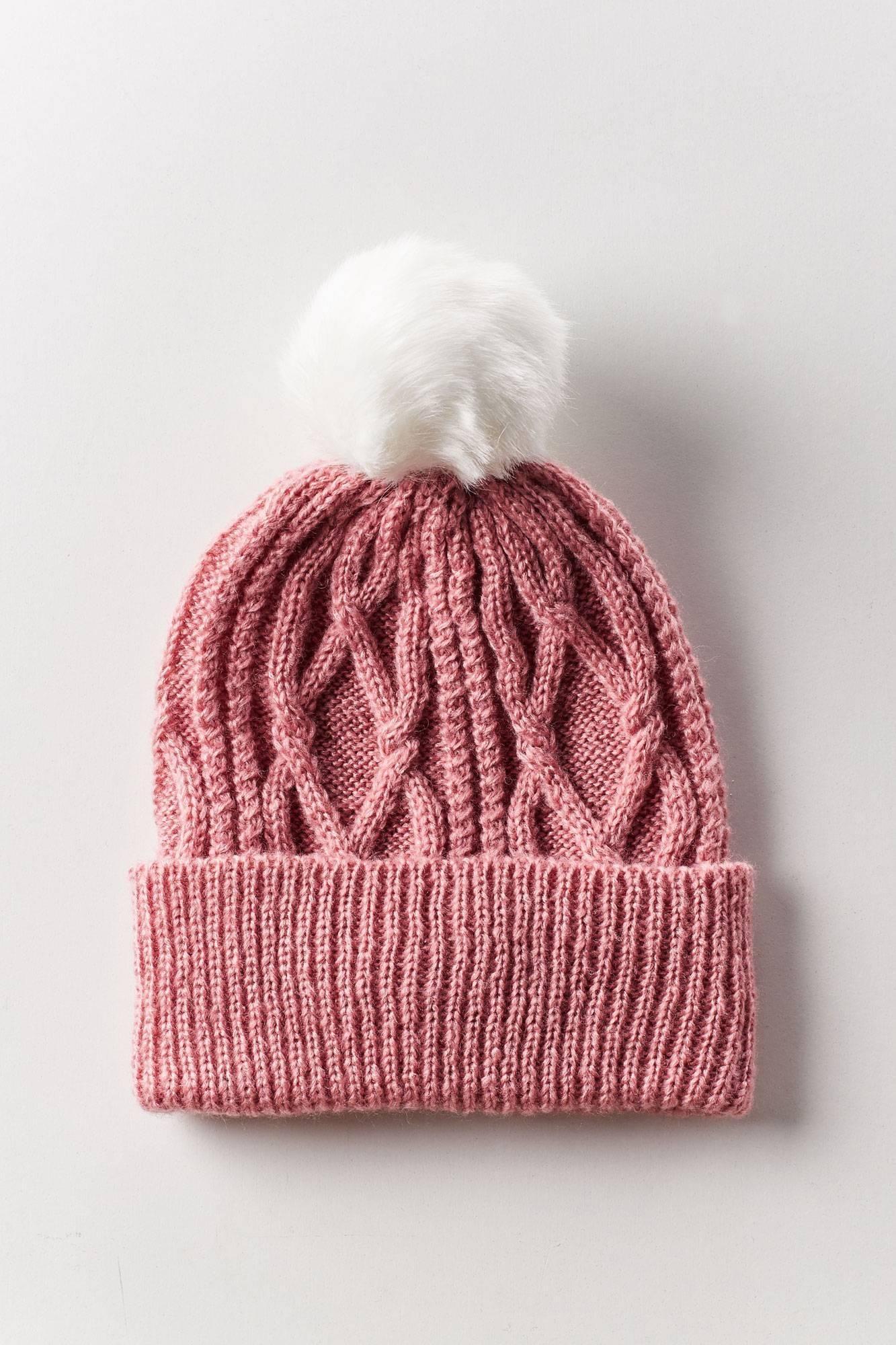 Soft Beanie Hat with Pom Pon