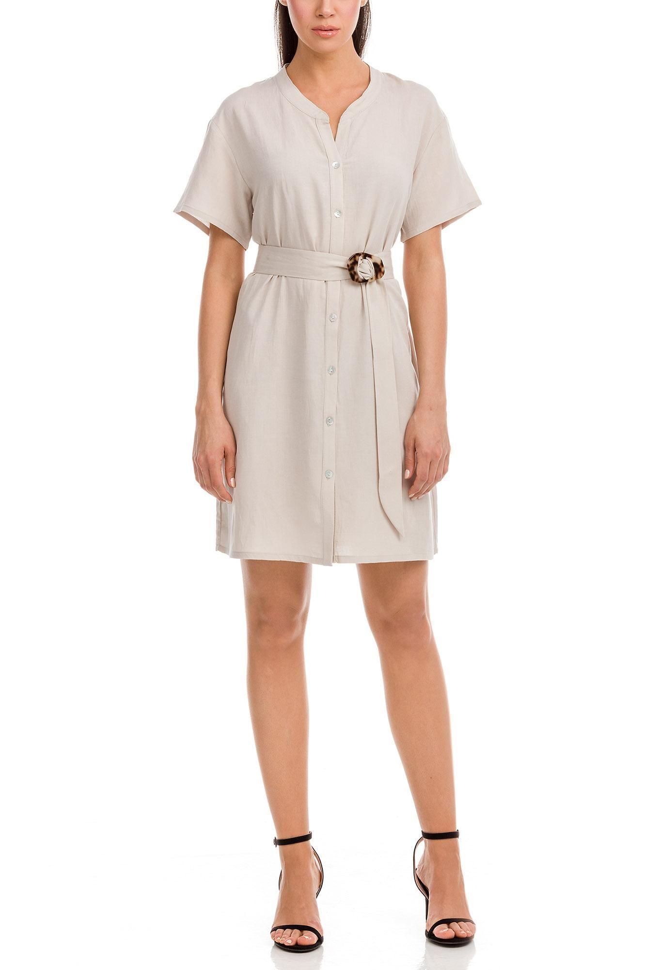 Φόρεμα Σεμιζιέ Λινό