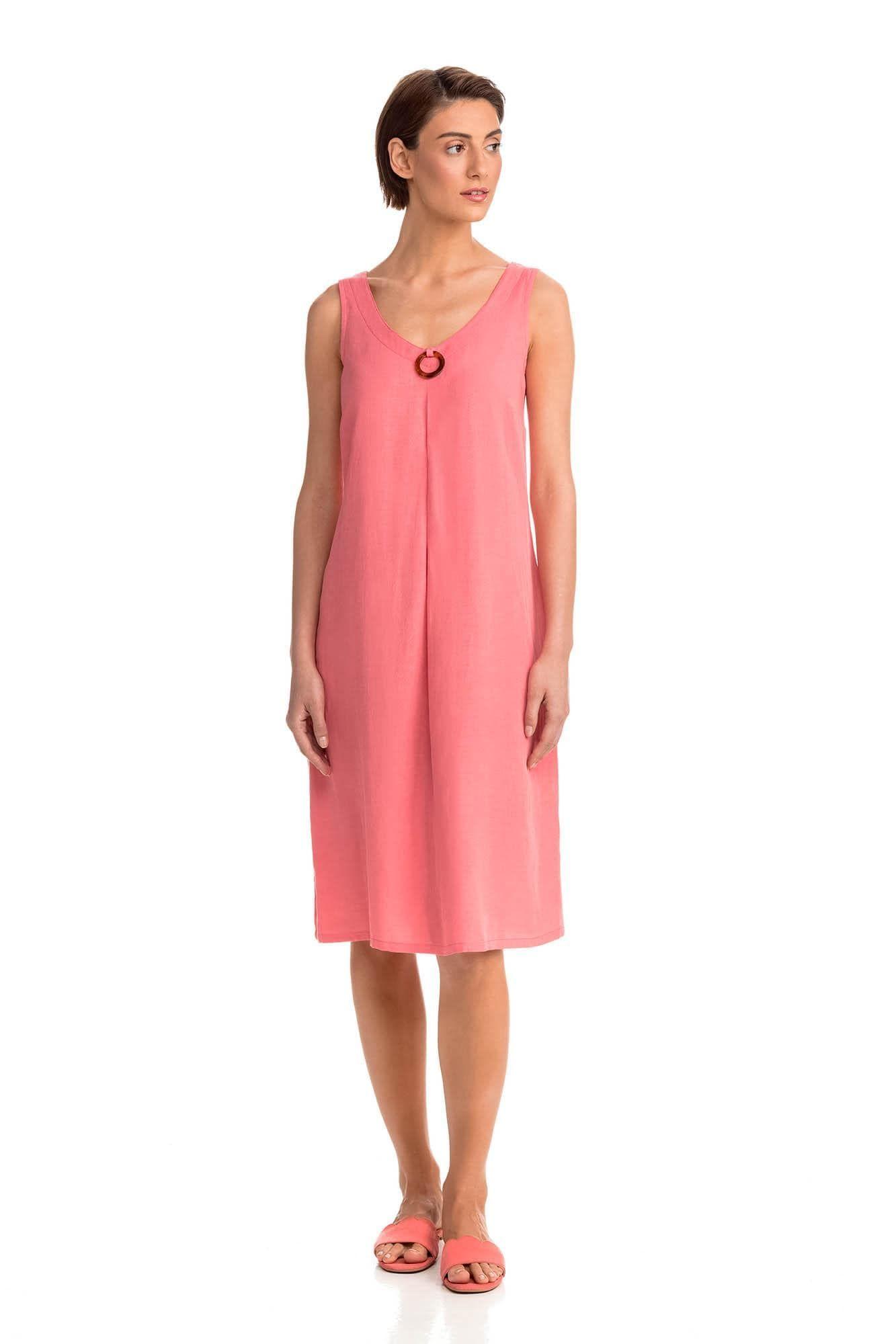 Γυναικείο Φόρεμα Λινό