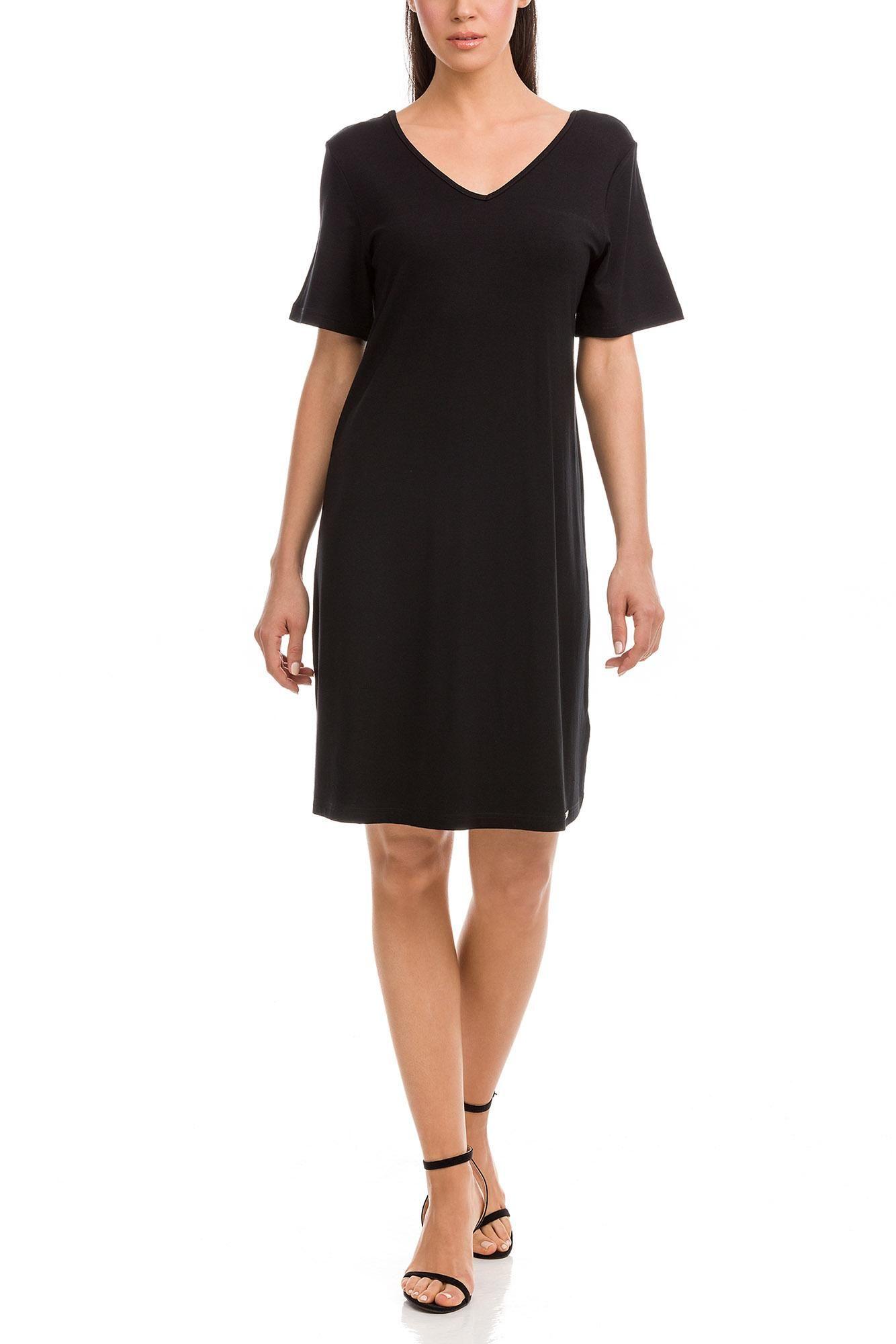 Φόρεμα Μονόχρωμο Κοντομάνικο