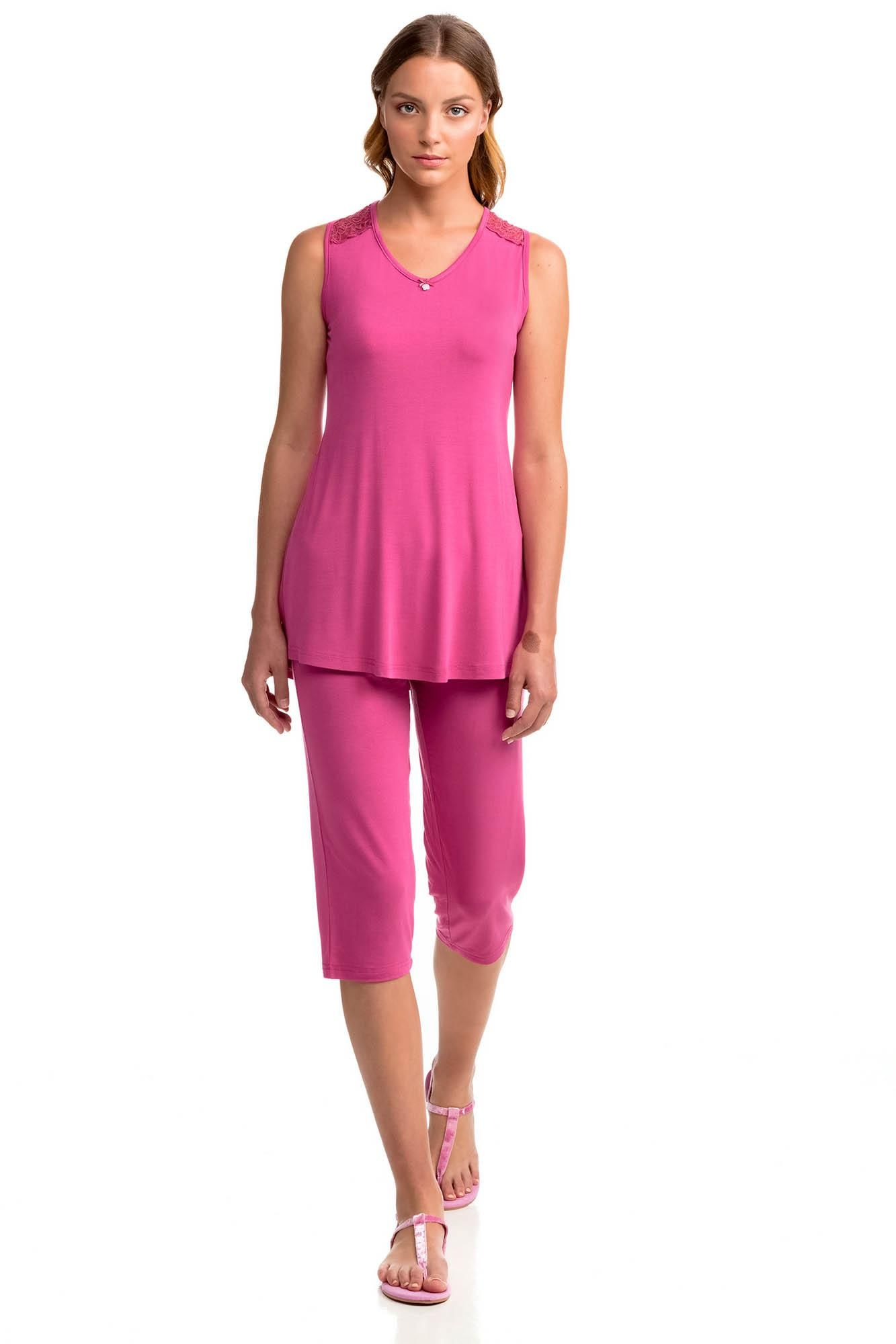 Women's Top and Capri Pants Homewear