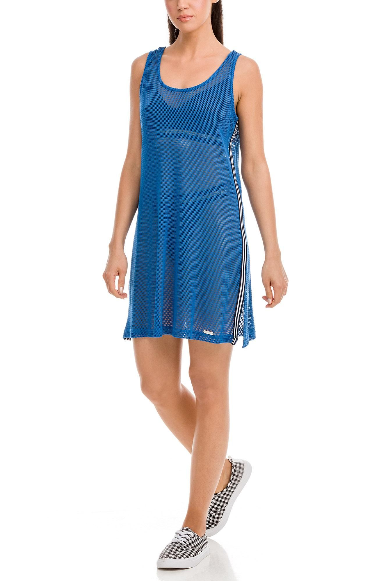 Αμάνικο Φόρεμα Θαλάσσης Ζακάρ