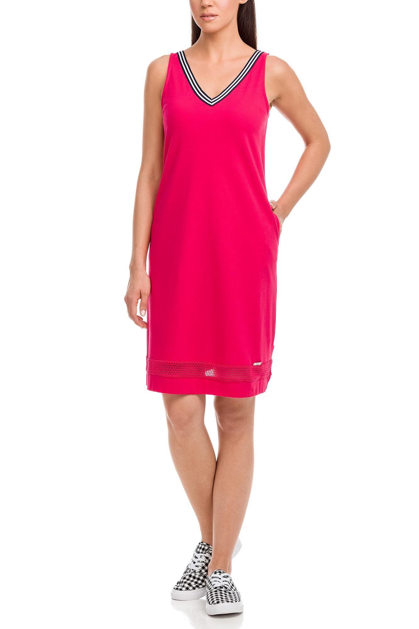 Αμάνικο Φόρεμα Θαλάσσης Πικέ