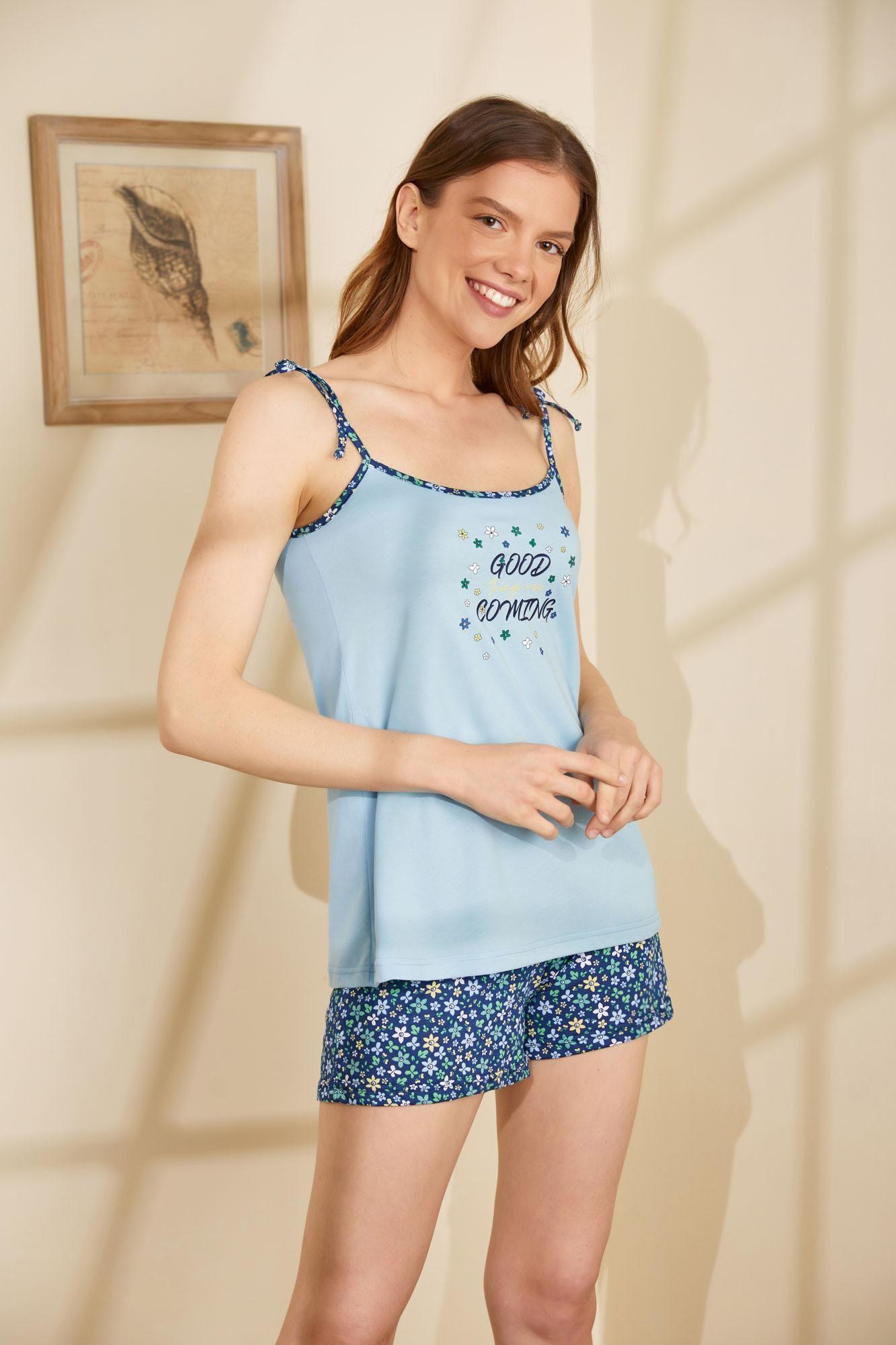 Women's Top and Shorts Pyjamas