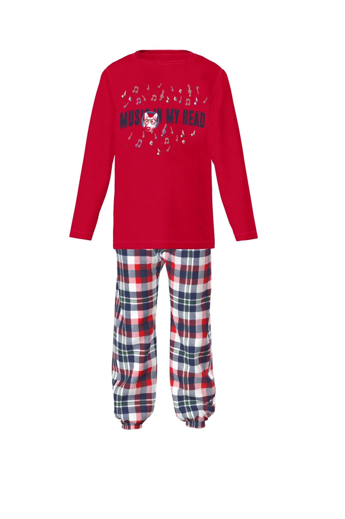 Kid's Plaid Pyjamas