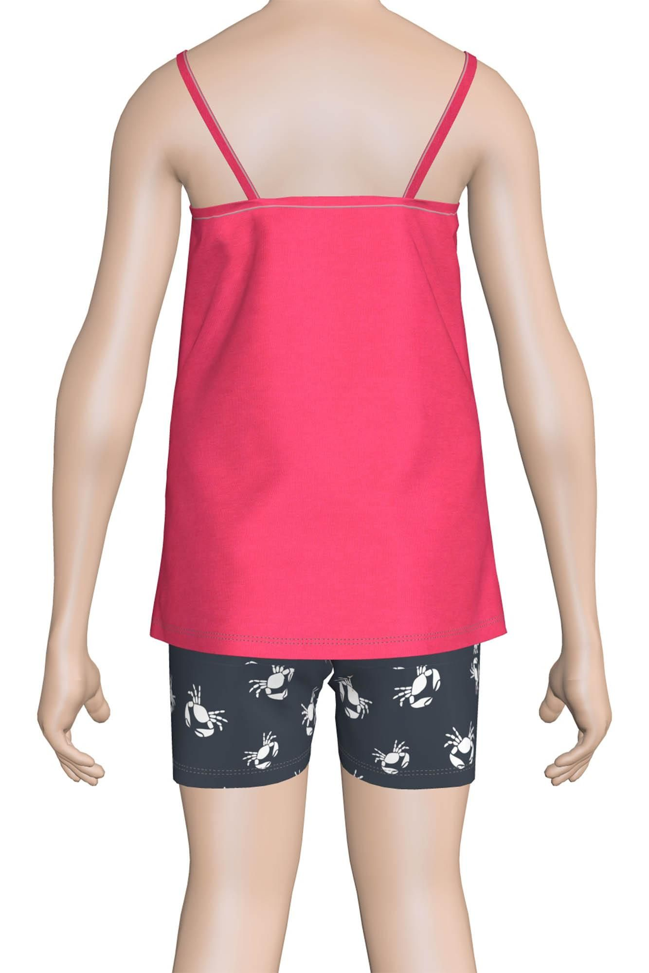 Sleeveless Kid's Pyjamas with Shorts