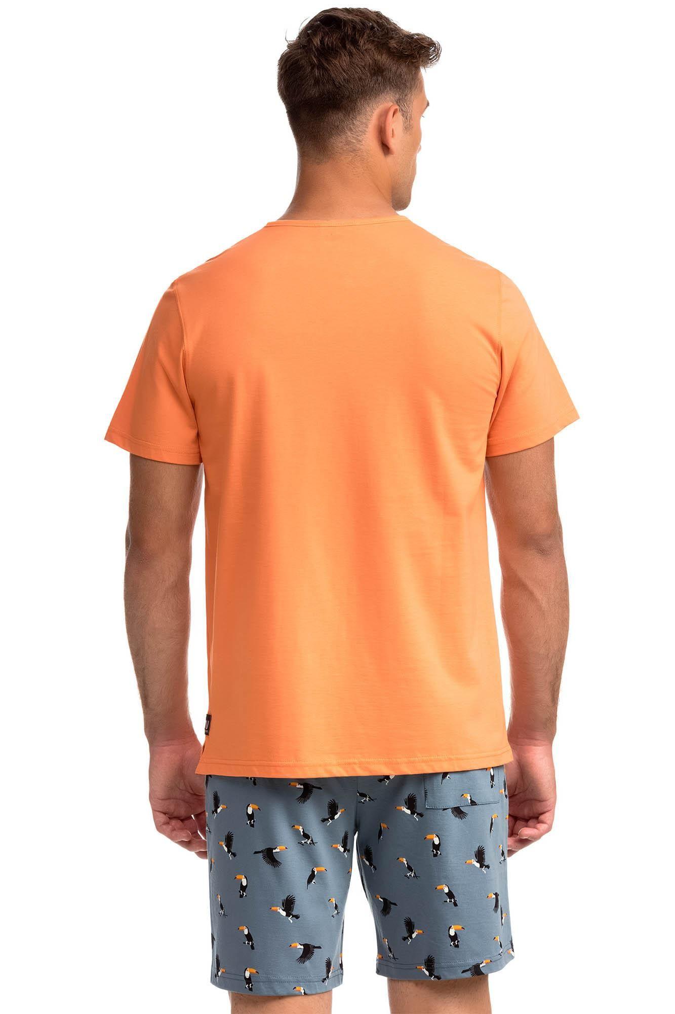 Men's Short-Sleeved Pyjamas Twocan