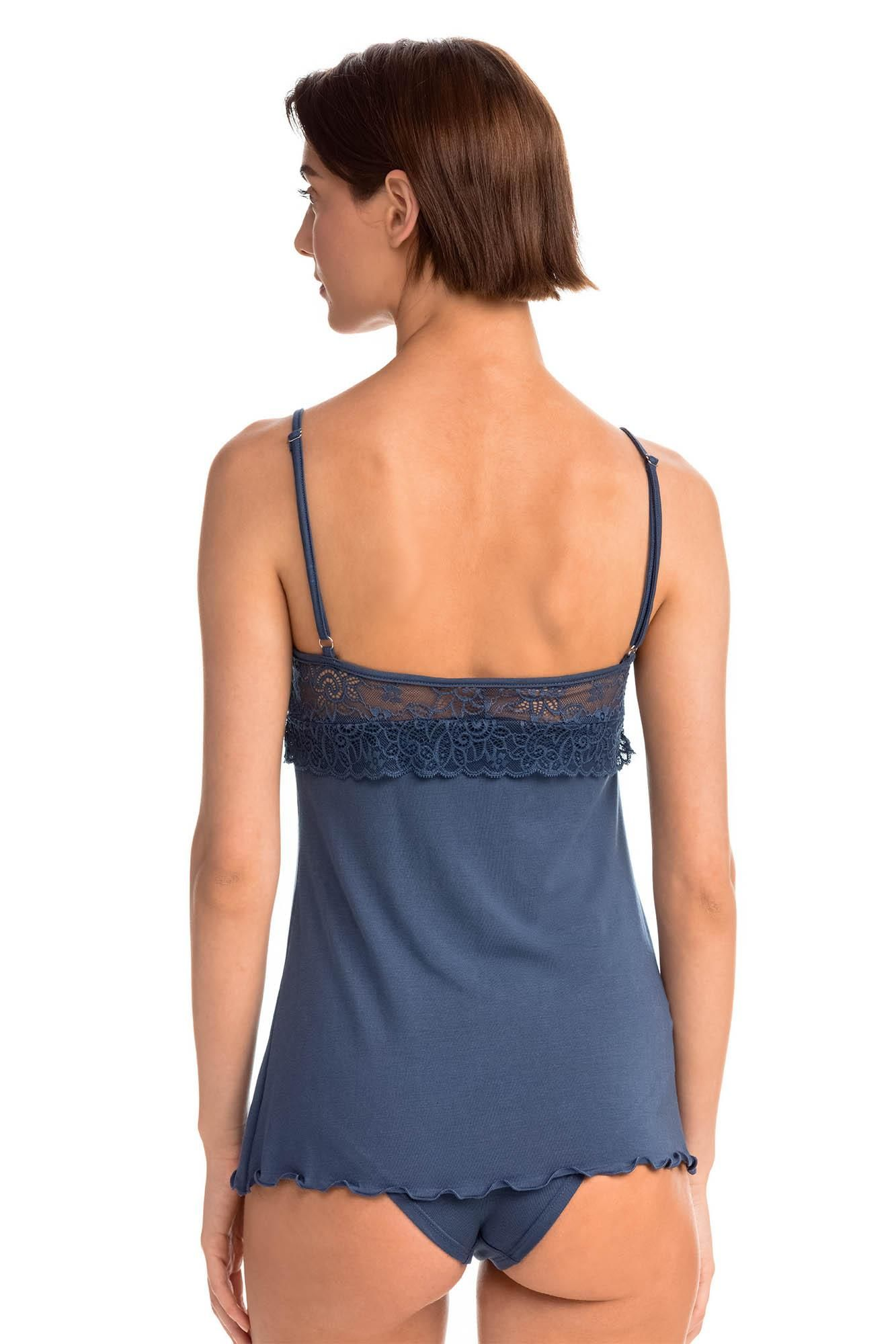 Camisole with Floral Lace